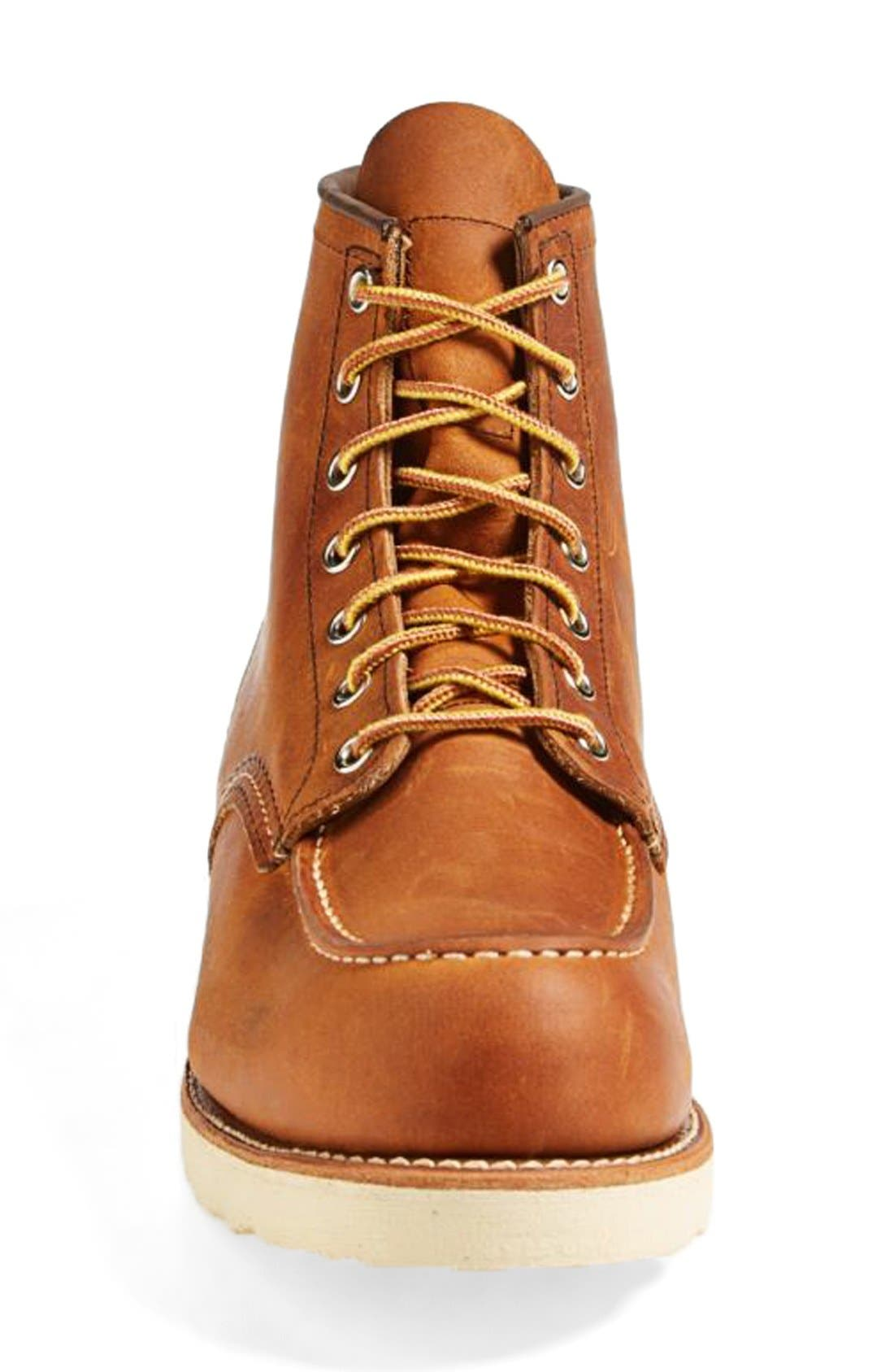 Moc Toe Boot,                             Alternate thumbnail 3, color,                             Copper Yuma