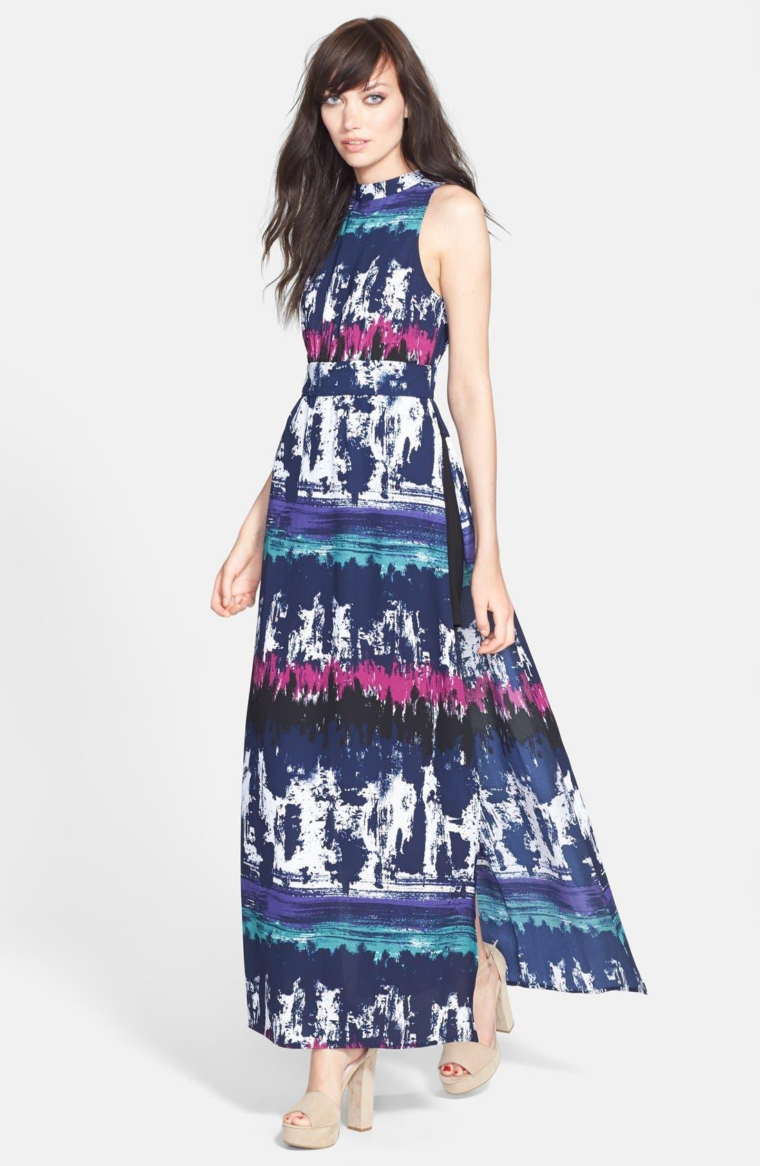 Alternate Image 1 Selected - Leith Side Slit Maxi Dress