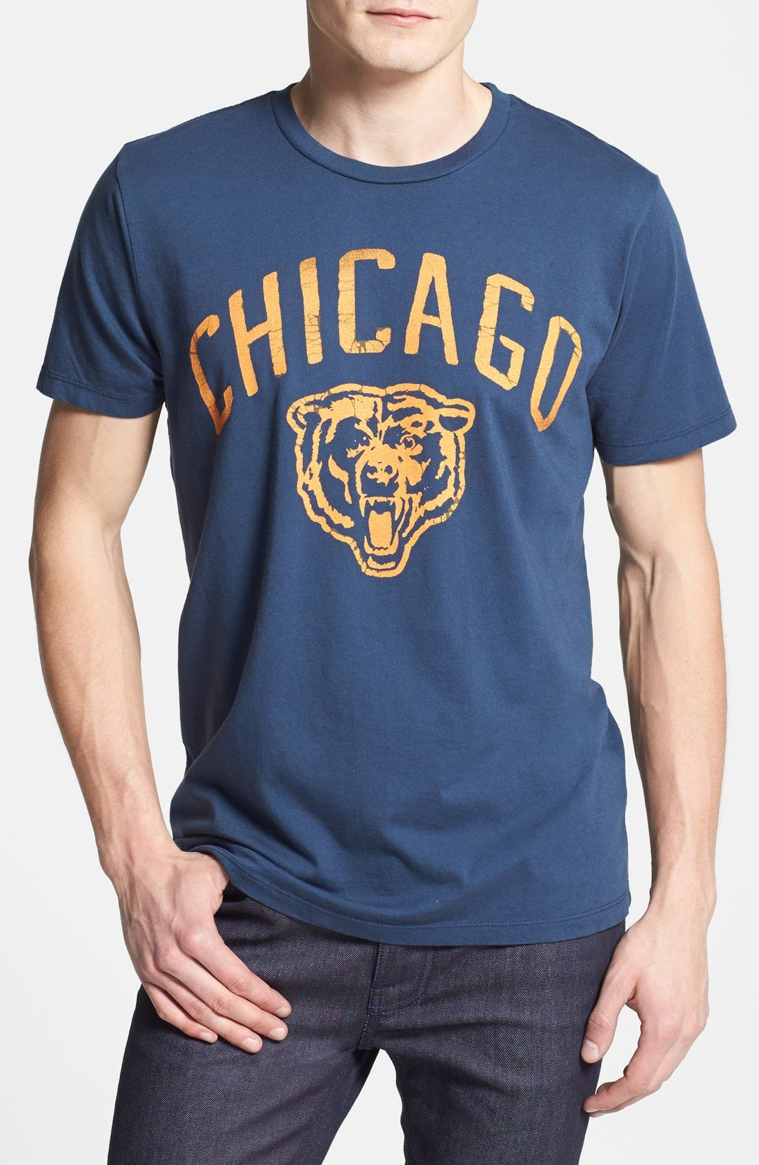 Alternate Image 1 Selected - Junk Food 'Chicago Bears' Graphic T-Shirt