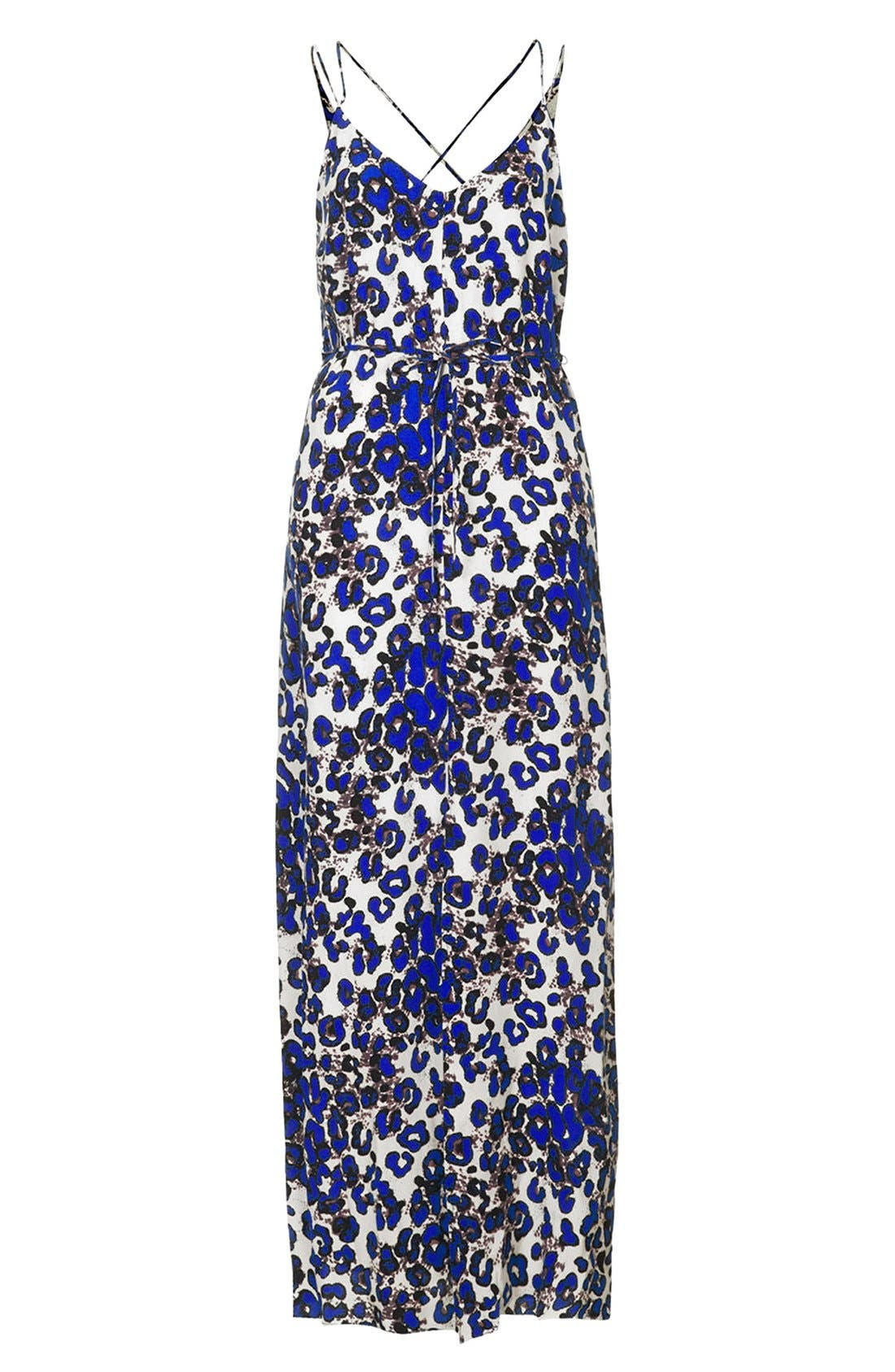Alternate Image 3  - Topshop Print Cross Back Maxi Dress