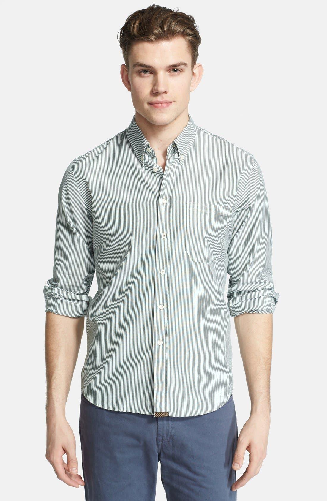 Alternate Image 1 Selected - Billy Reid 'Tuscumbia' Stripe Shirt