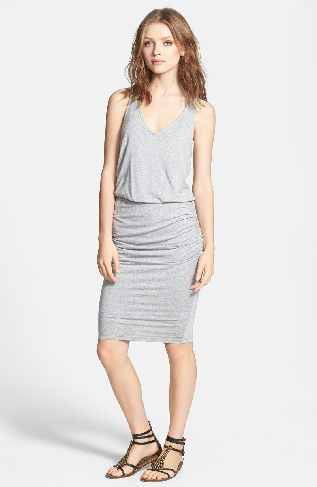Main Image - Splendid Tencel® Racerback Midi Dress