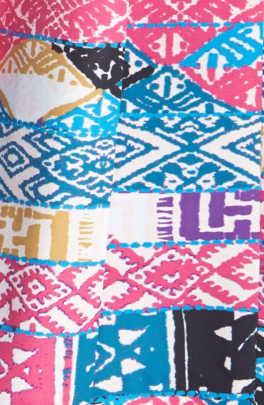 Alternate Image 4  - Plenty by Tracy Reese 'Zoe' Print Skirt Fit & Flare Dress