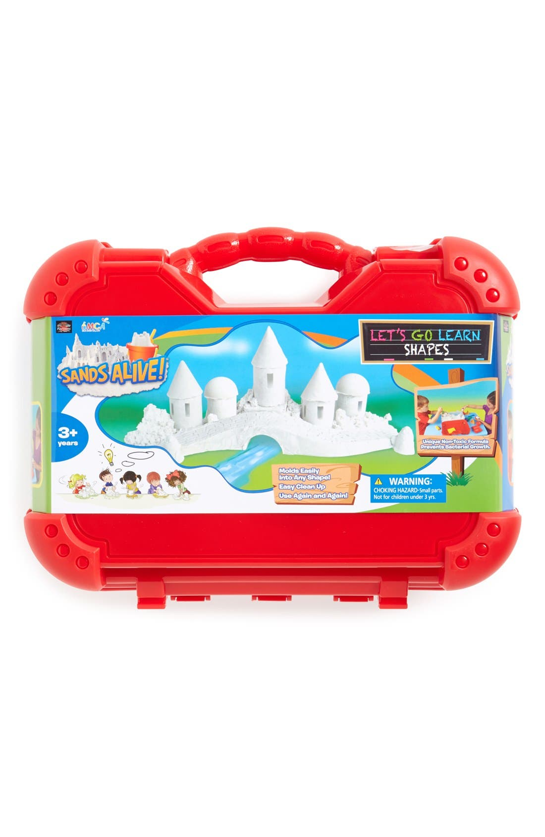 Main Image - Play Visions Toys 'Sands Alive! Let's Go Learn Shapes' Indoor Play Sand Kit