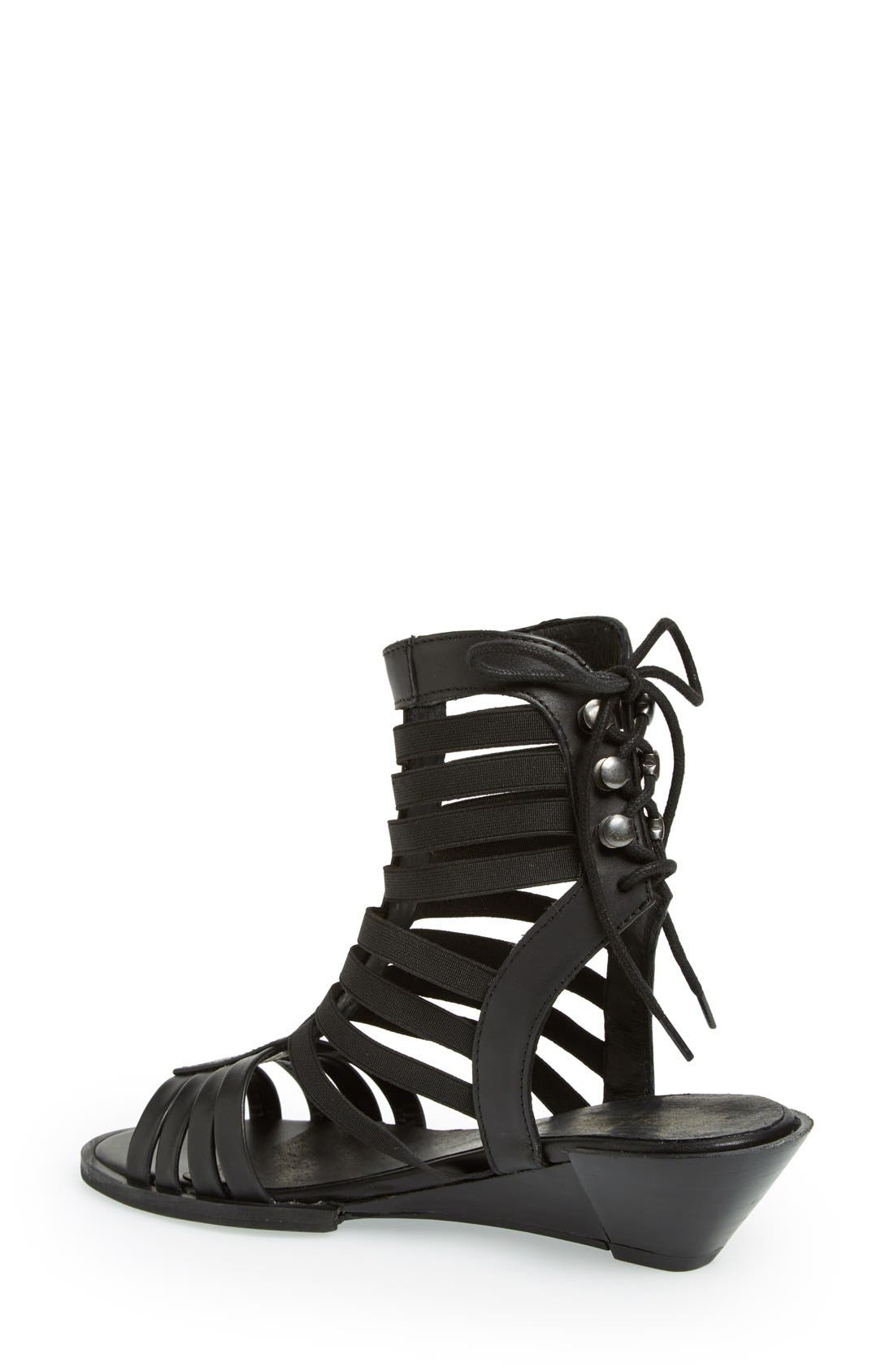 Alternate Image 2  - Topshop 'Foil' Gladiator Sandal (Women)