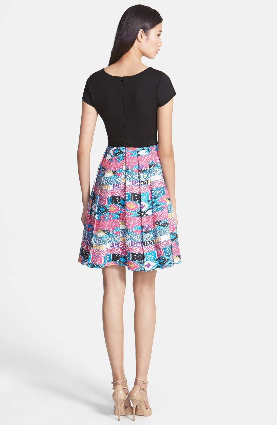 Alternate Image 2  - Plenty by Tracy Reese 'Zoe' Print Skirt Fit & Flare Dress