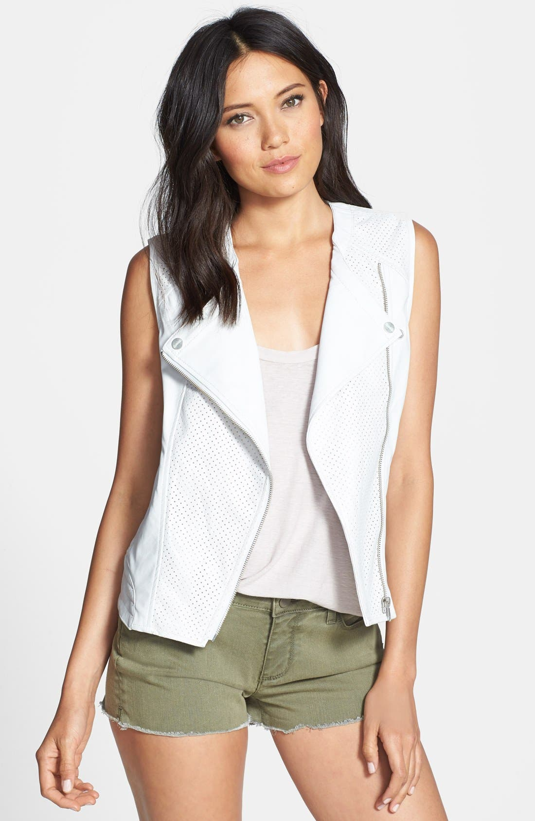 Main Image - Sanctuary 'City' Faux Leather Moto Vest