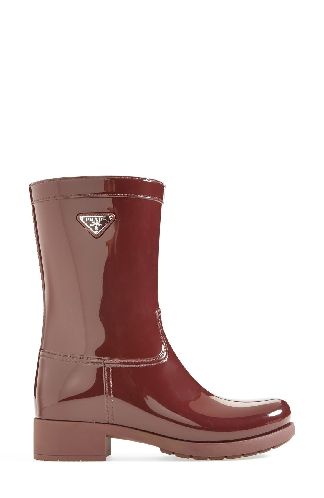 Alternate Image 4  - Prada Rubber Rain Boot (Women)