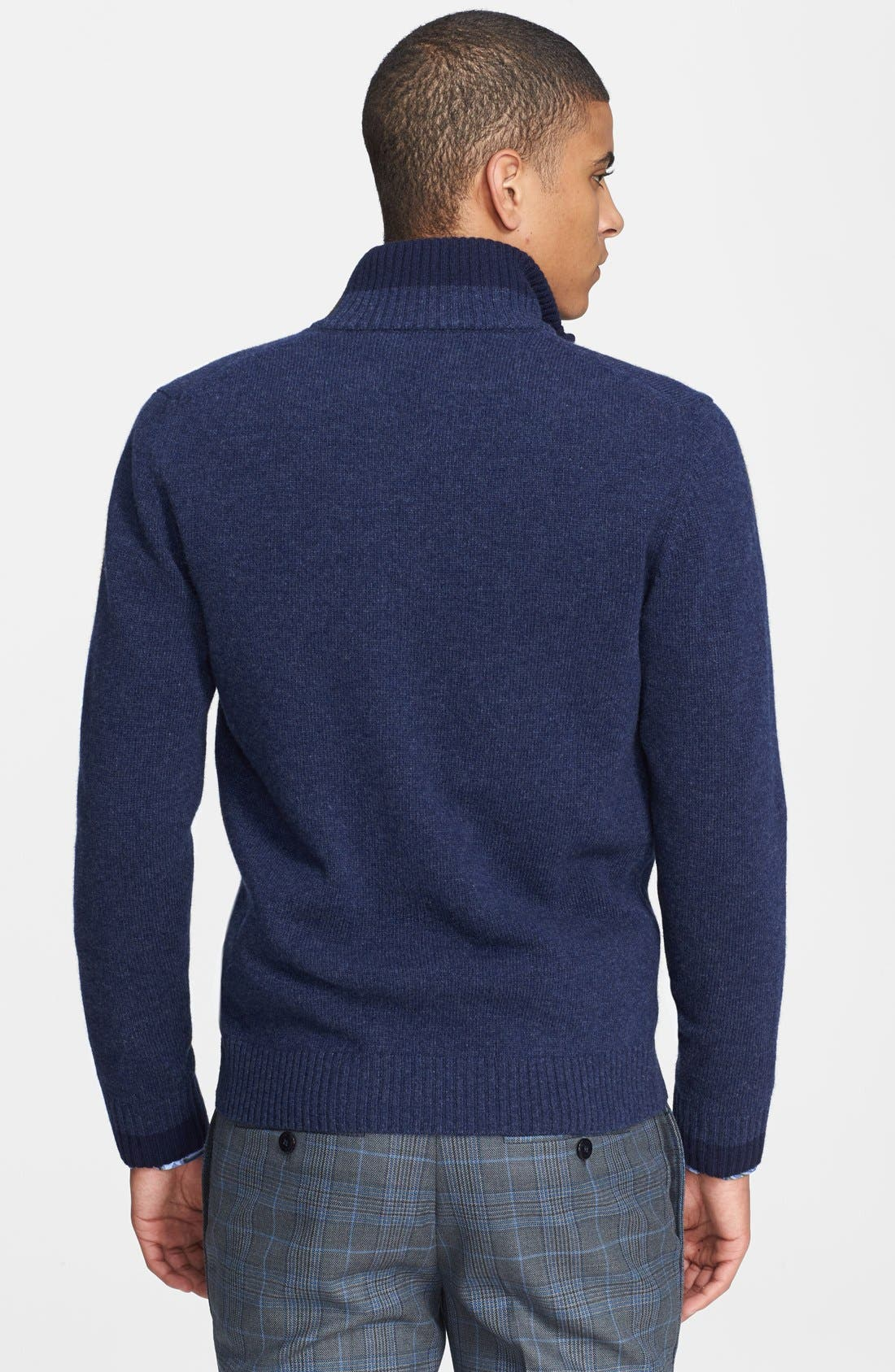 Alternate Image 2  - Etro Wool Zip Sweater