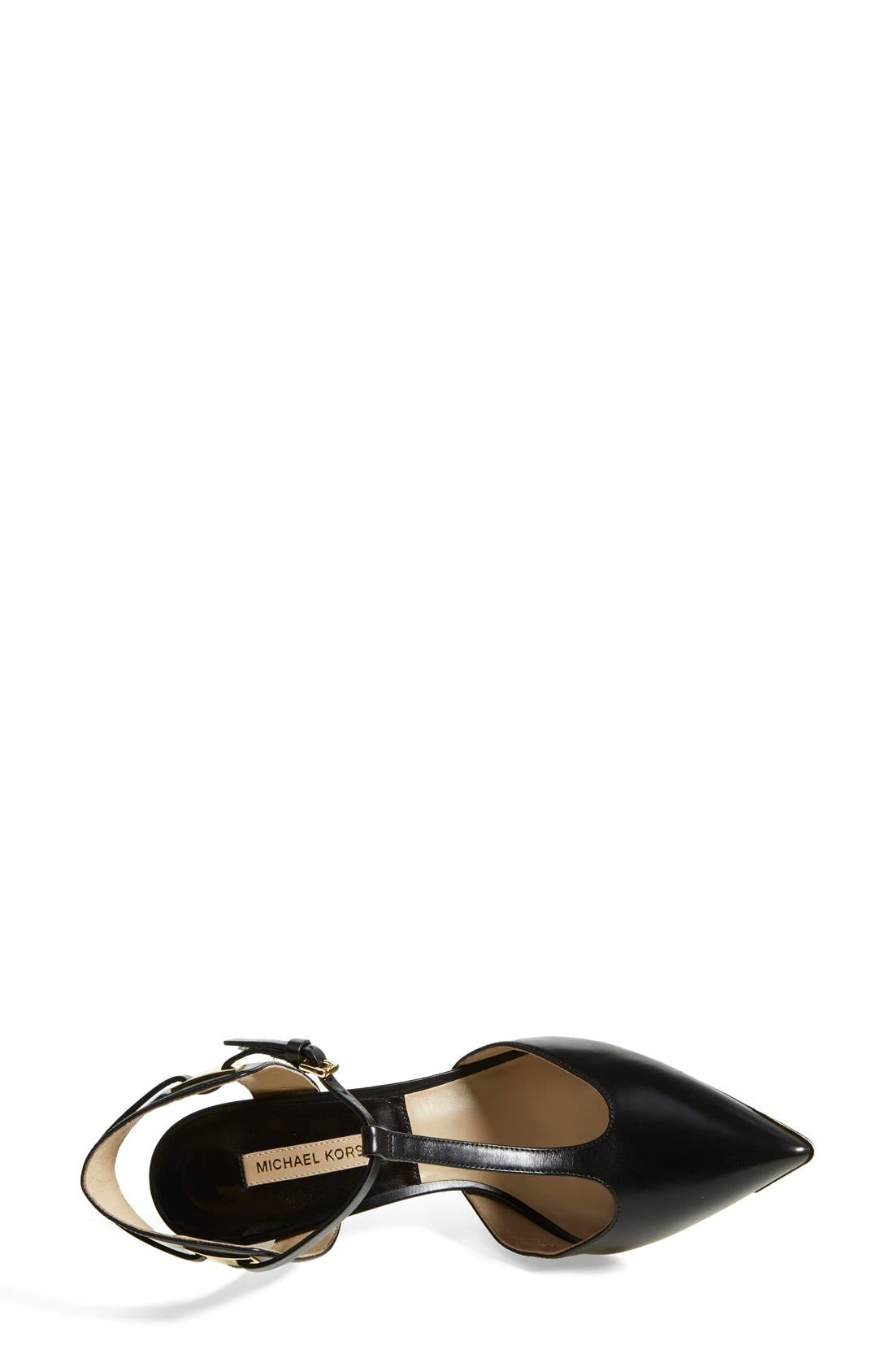 Alternate Image 3  - Michael Kors 'Silvia' T-Strap Pump (Women)
