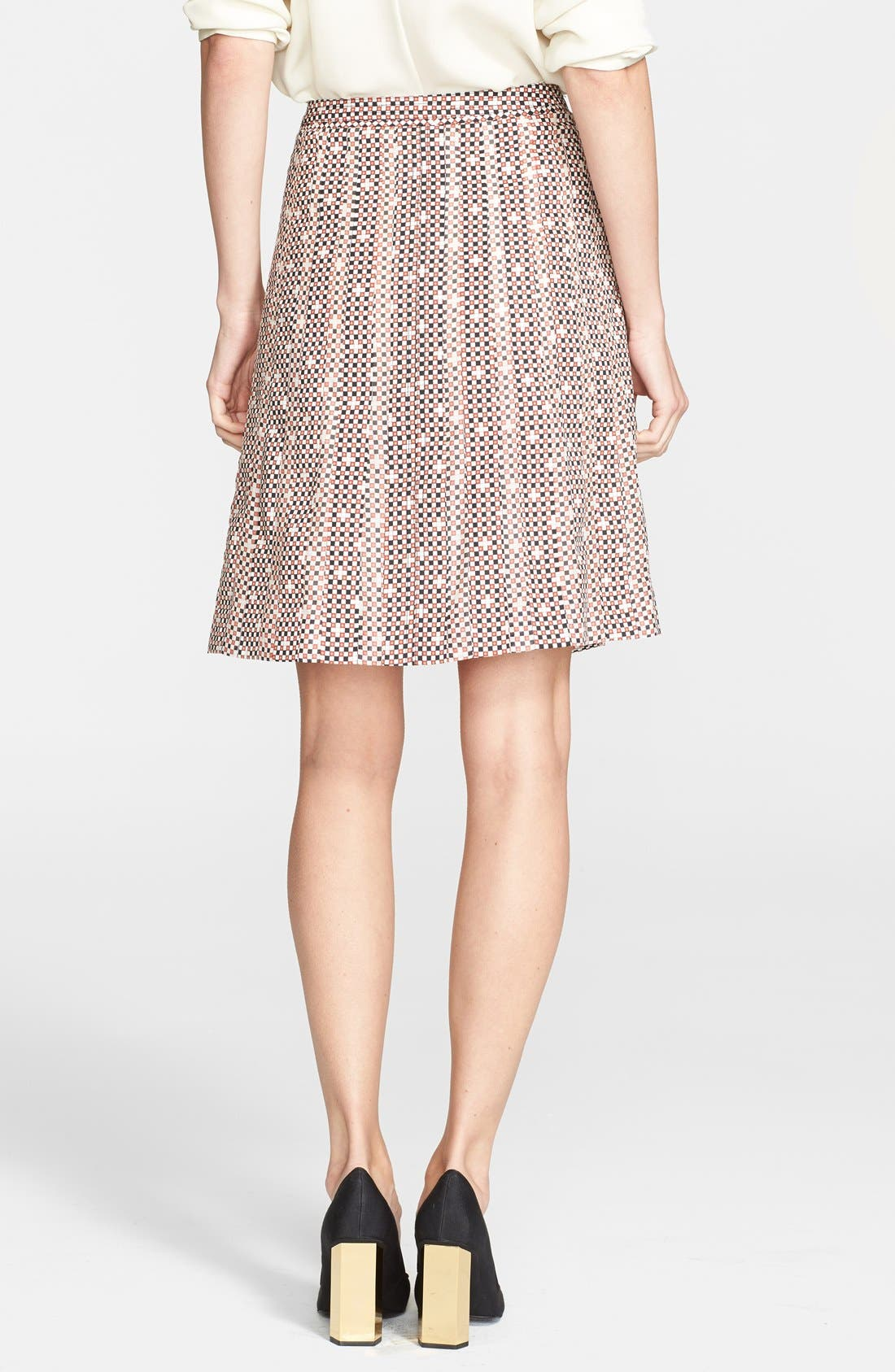 Alternate Image 2  - Tory Burch 'Floria' Print Stretch Silk Skirt