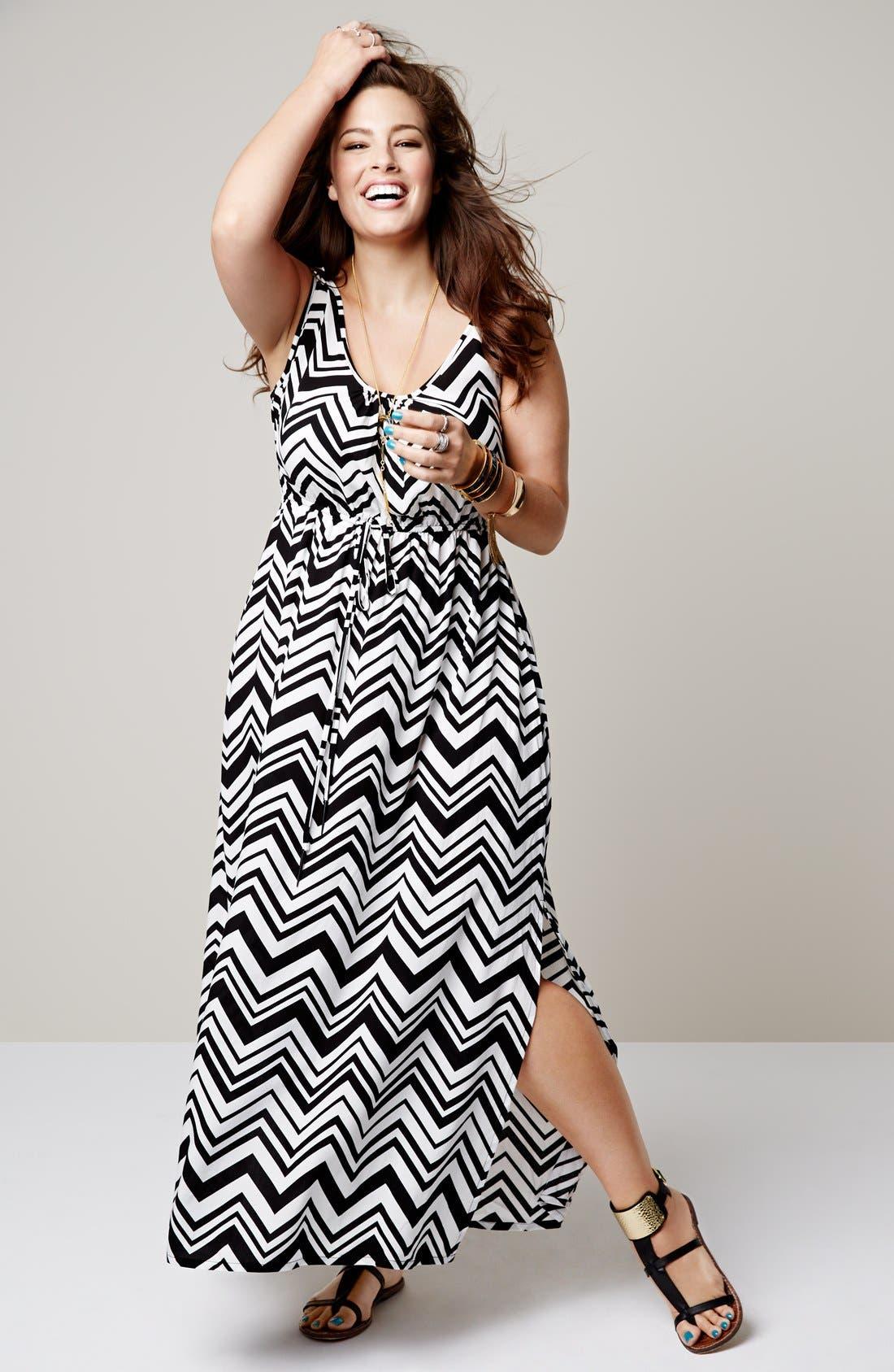 Alternate Image 2  - City Chic 'Jamaica' Maxi Dress (Plus Size)