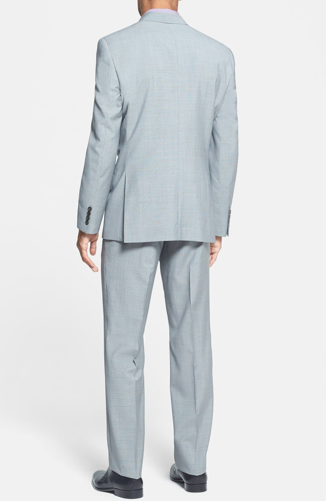 Alternate Image 2  - Ted Baker London 'Jones' Trim Fit Wool Suit