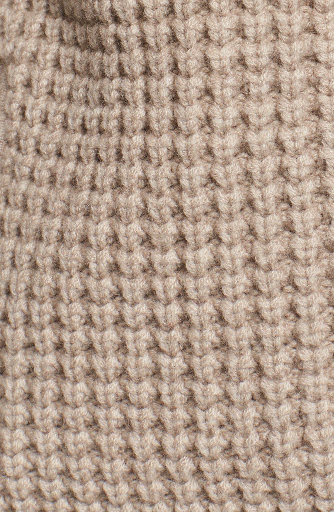Alternate Image 5  - Michael Kors Zip Front Cashmere Hoodie with Genuine Fox Fur Trim