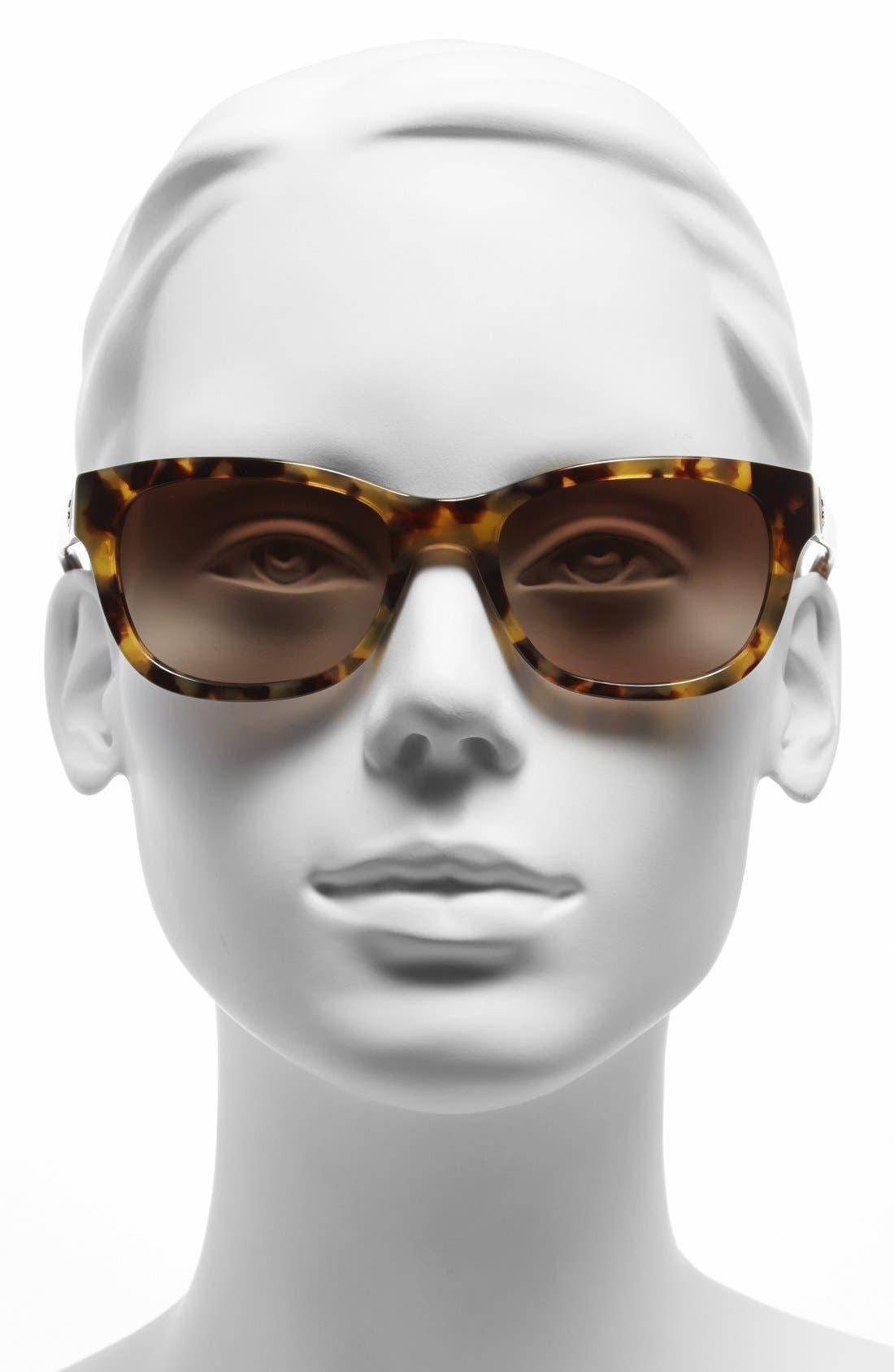 Alternate Image 2  - Tory Burch 54mm Sunglasses