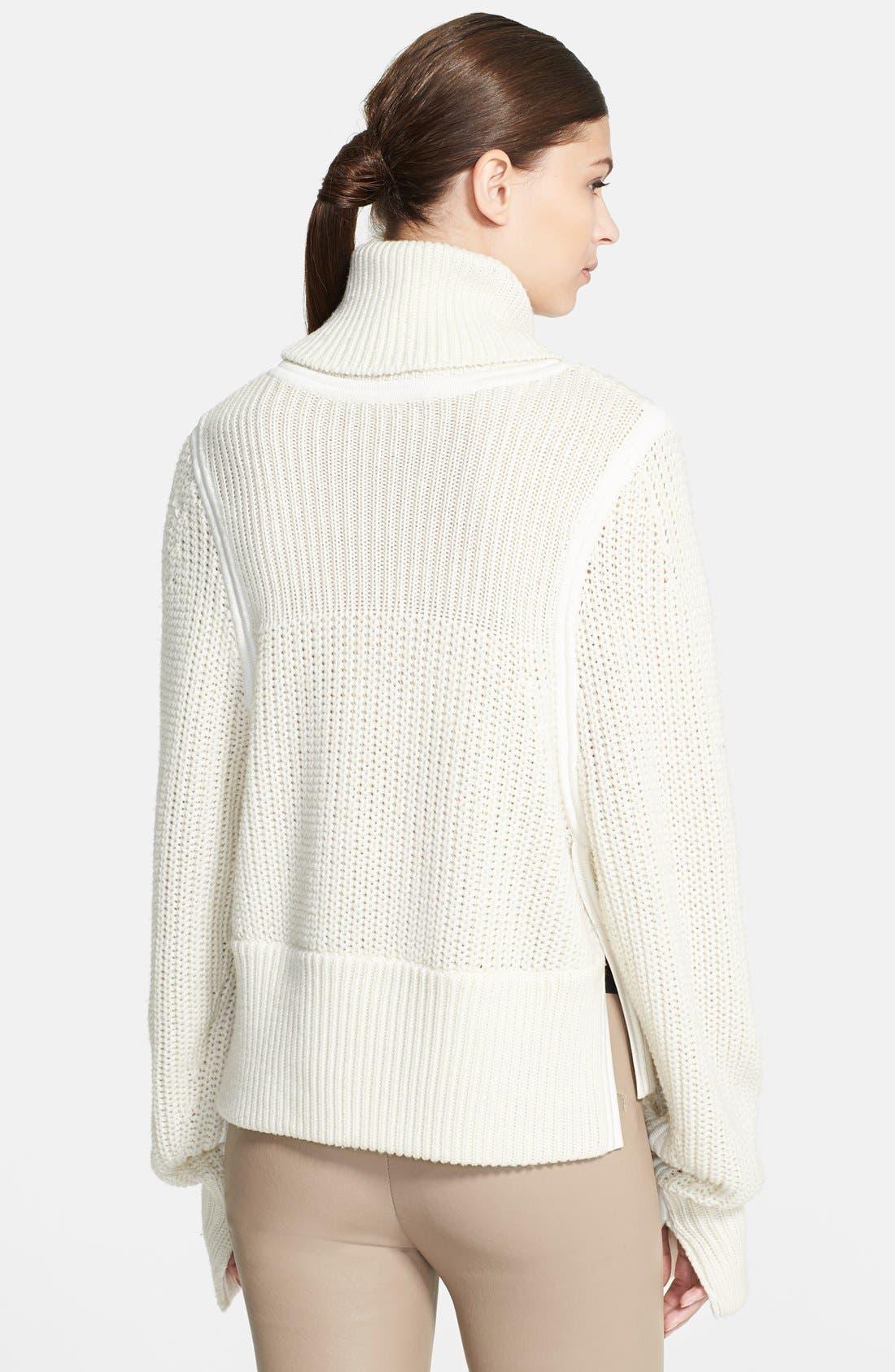 Alternate Image 2  - Helmut Lang Chunky Knit Turtleneck Sweater