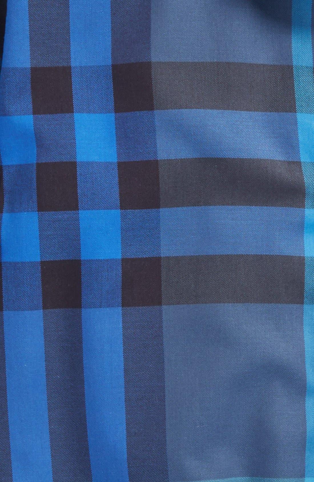 Alternate Image 2  - Burberry 'Mini Fred' Check Print Woven Shirt (Little Boys & Big Boys)