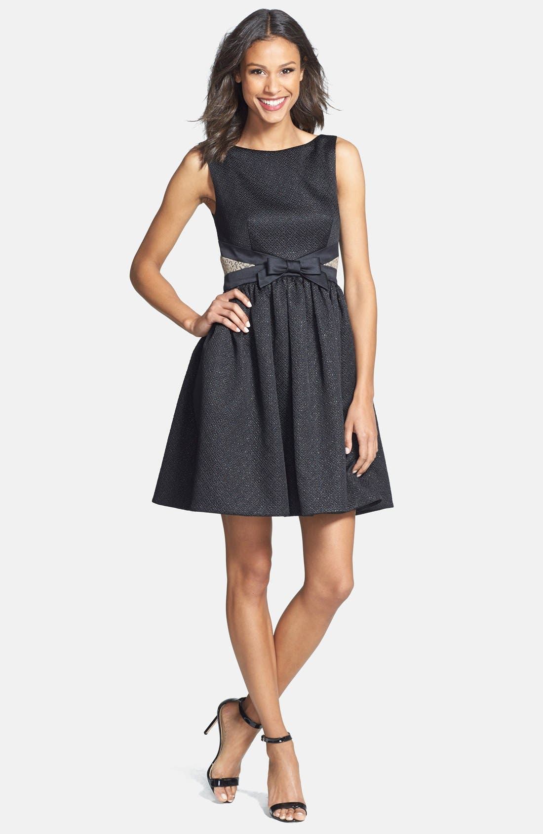 Alternate Image 3  - ERIN erin fetherston Bow Detail Jacquard Fit & Flare Dress