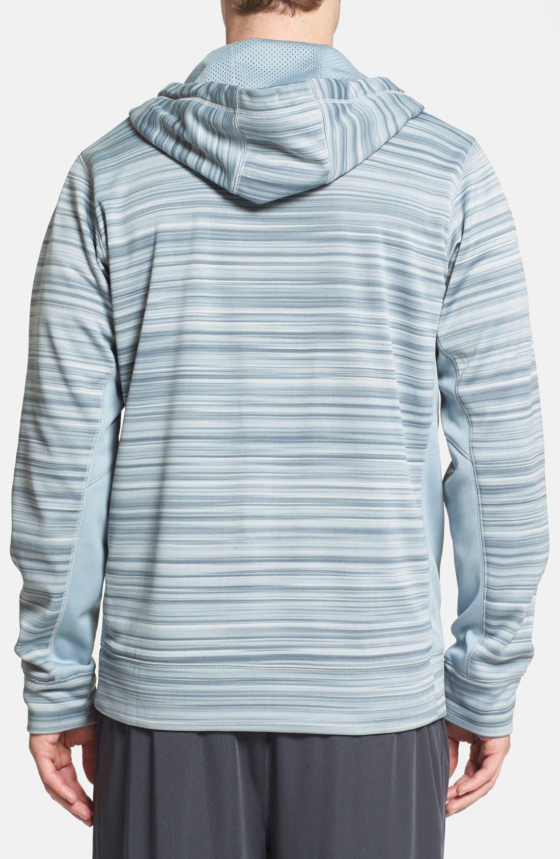 Alternate Image 2  - Nike 'KO Hyperblur' Full Zip Therma-FIT Hoodie
