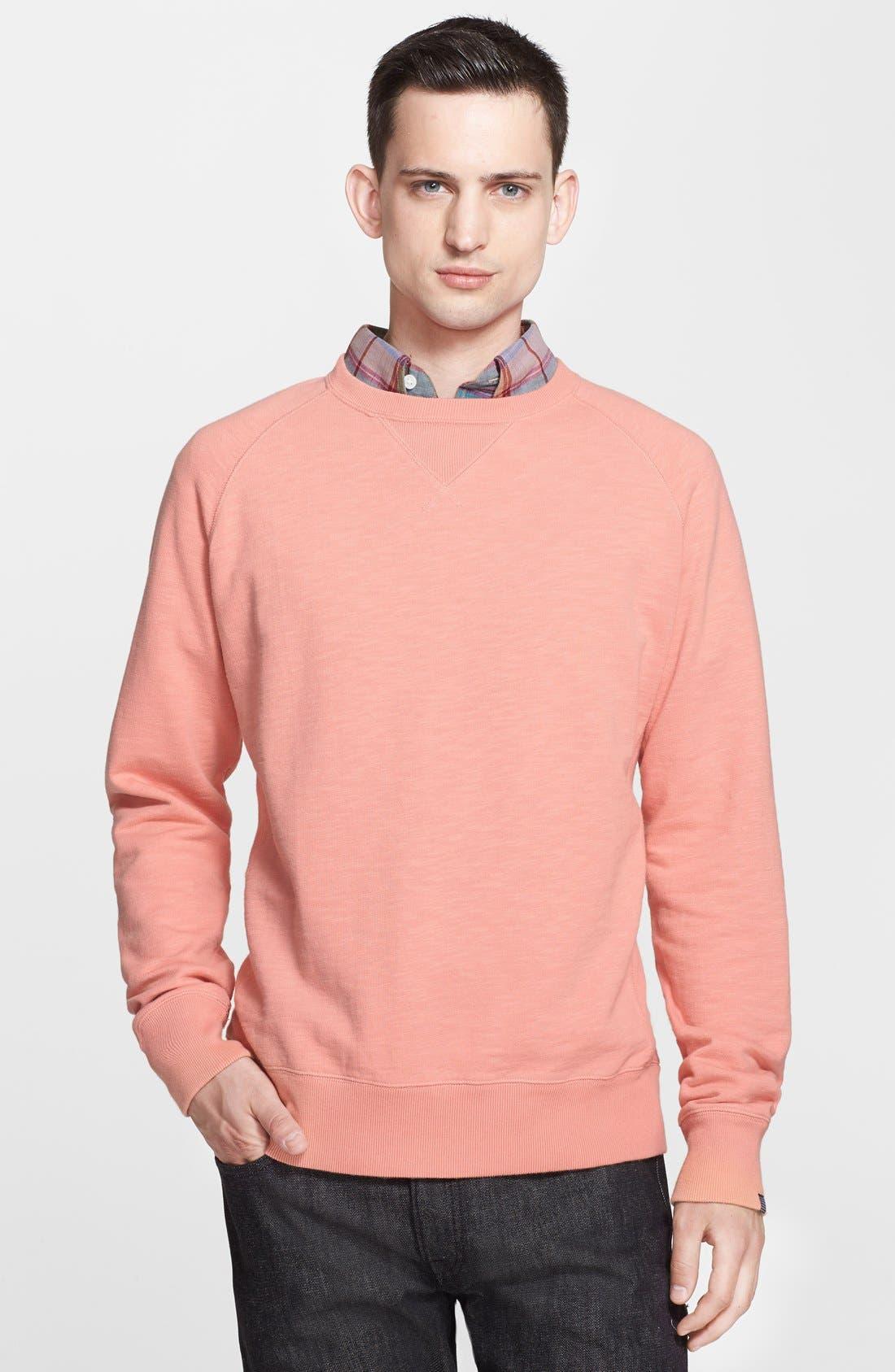 Alternate Image 1 Selected - Jack Spade 'Price' Crewneck Sweatshirt