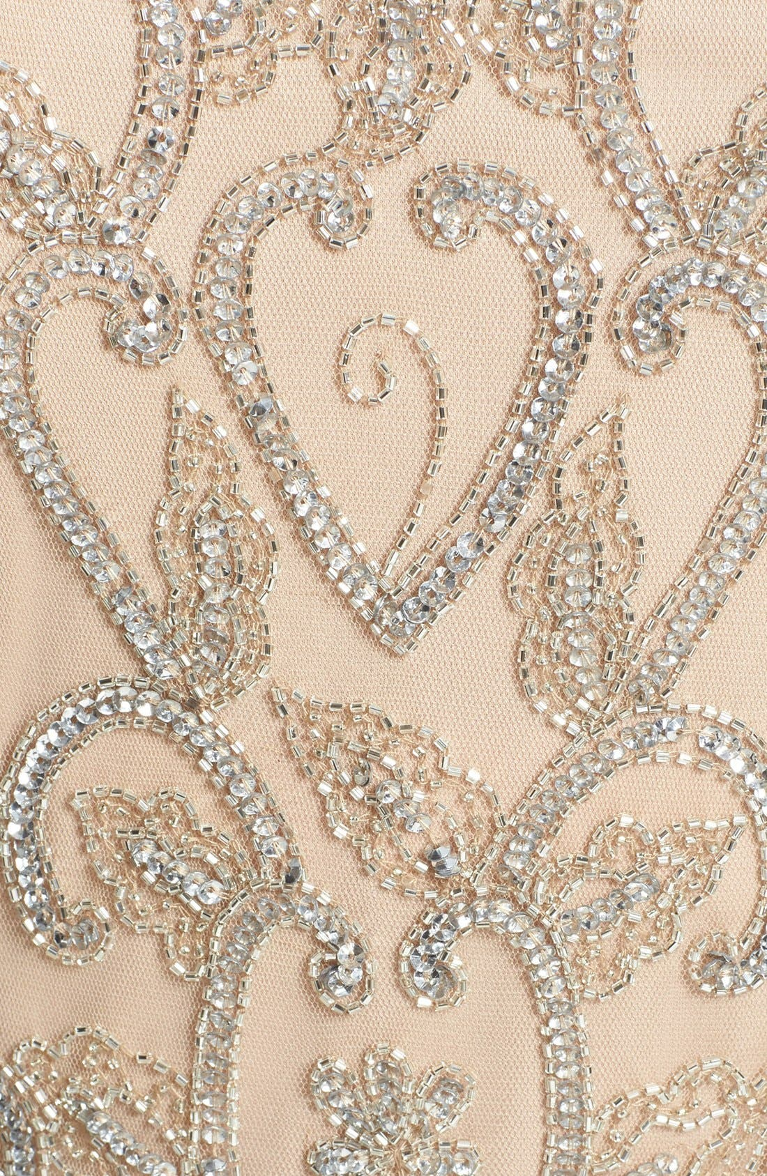 Alternate Image 3  - Pisarro Nights Embellished Mesh Dress (Regular & Petite)