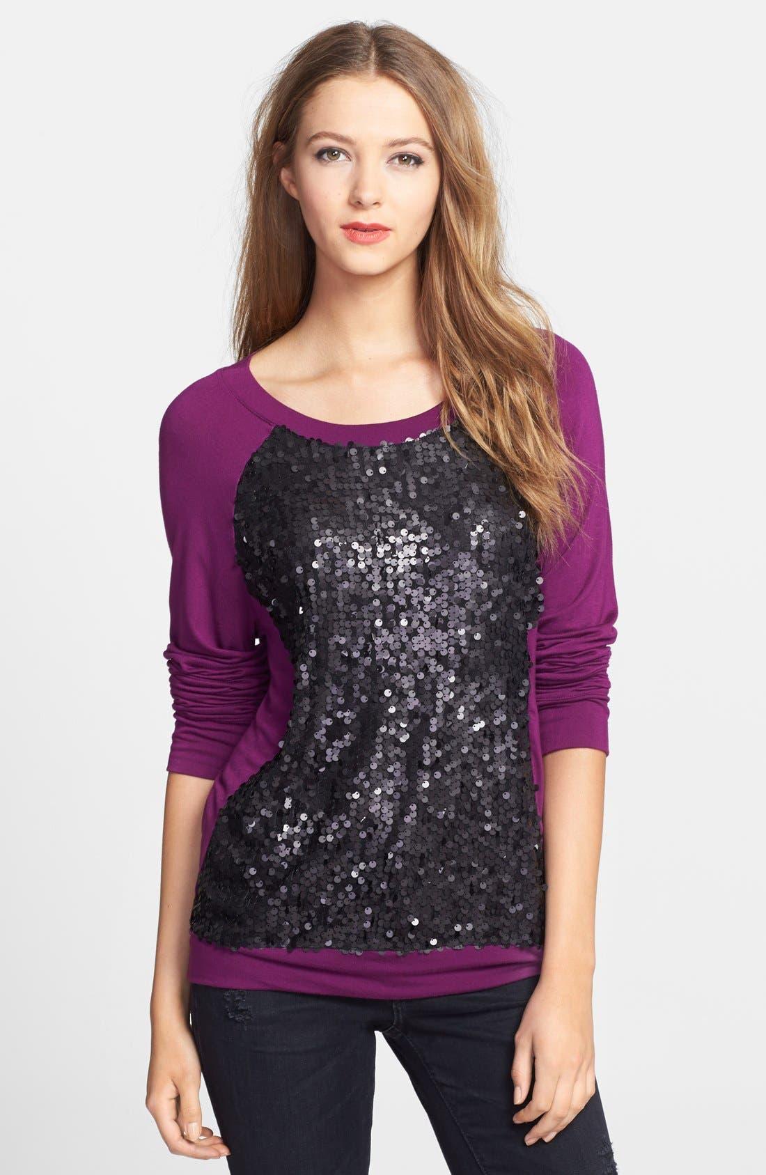 Alternate Image 1 Selected - Halogen® Embellished Sweatshirt