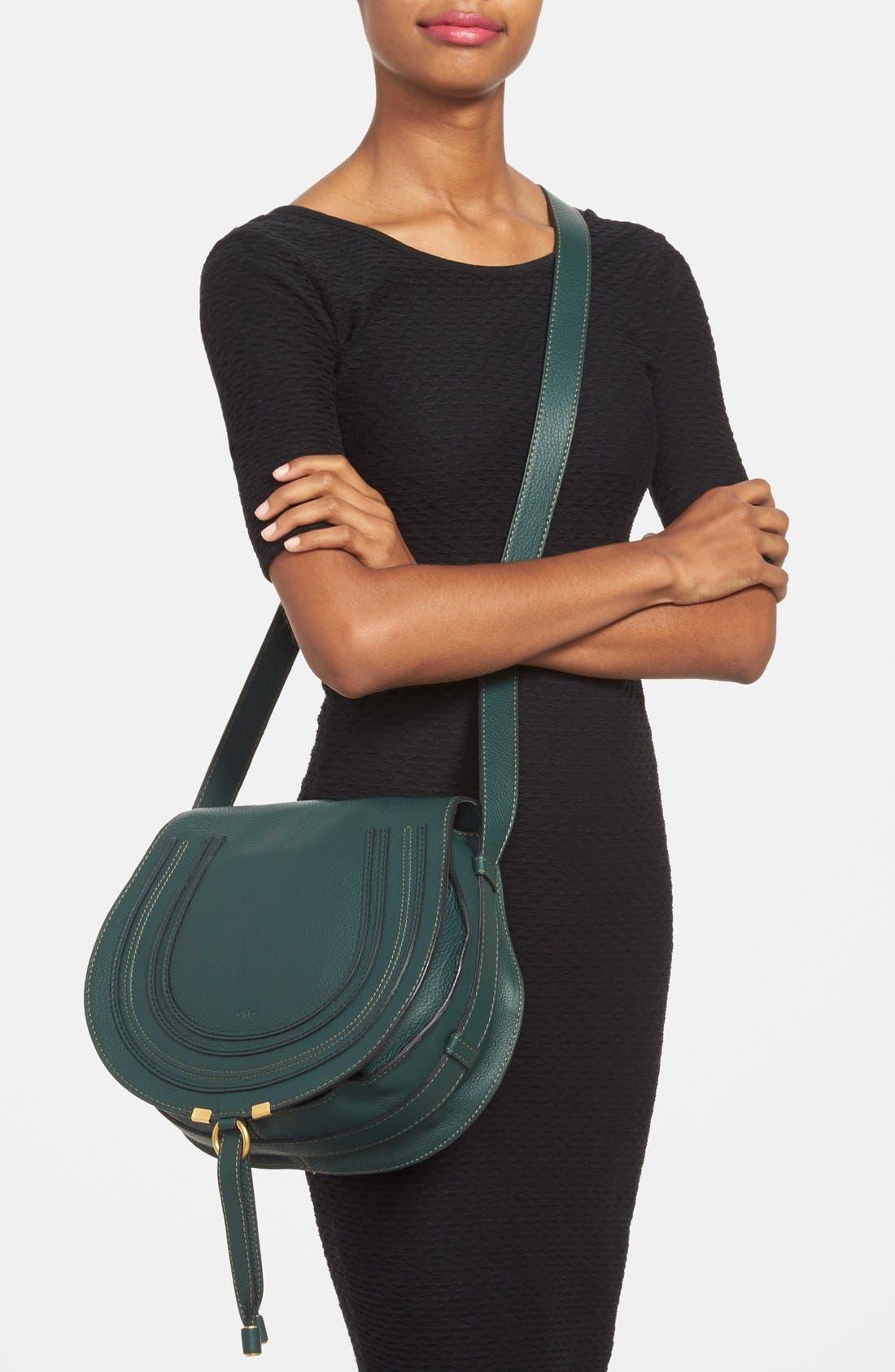 Alternate Image 2  - Chloé 'Marcie - Medium' Leather Crossbody Bag
