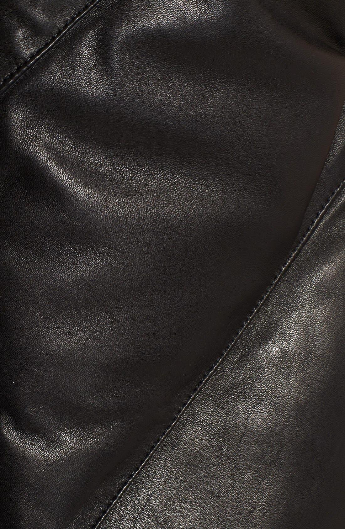 Alternate Image 4  - Helmut Lang 'Petal' Leather Puffer Vest