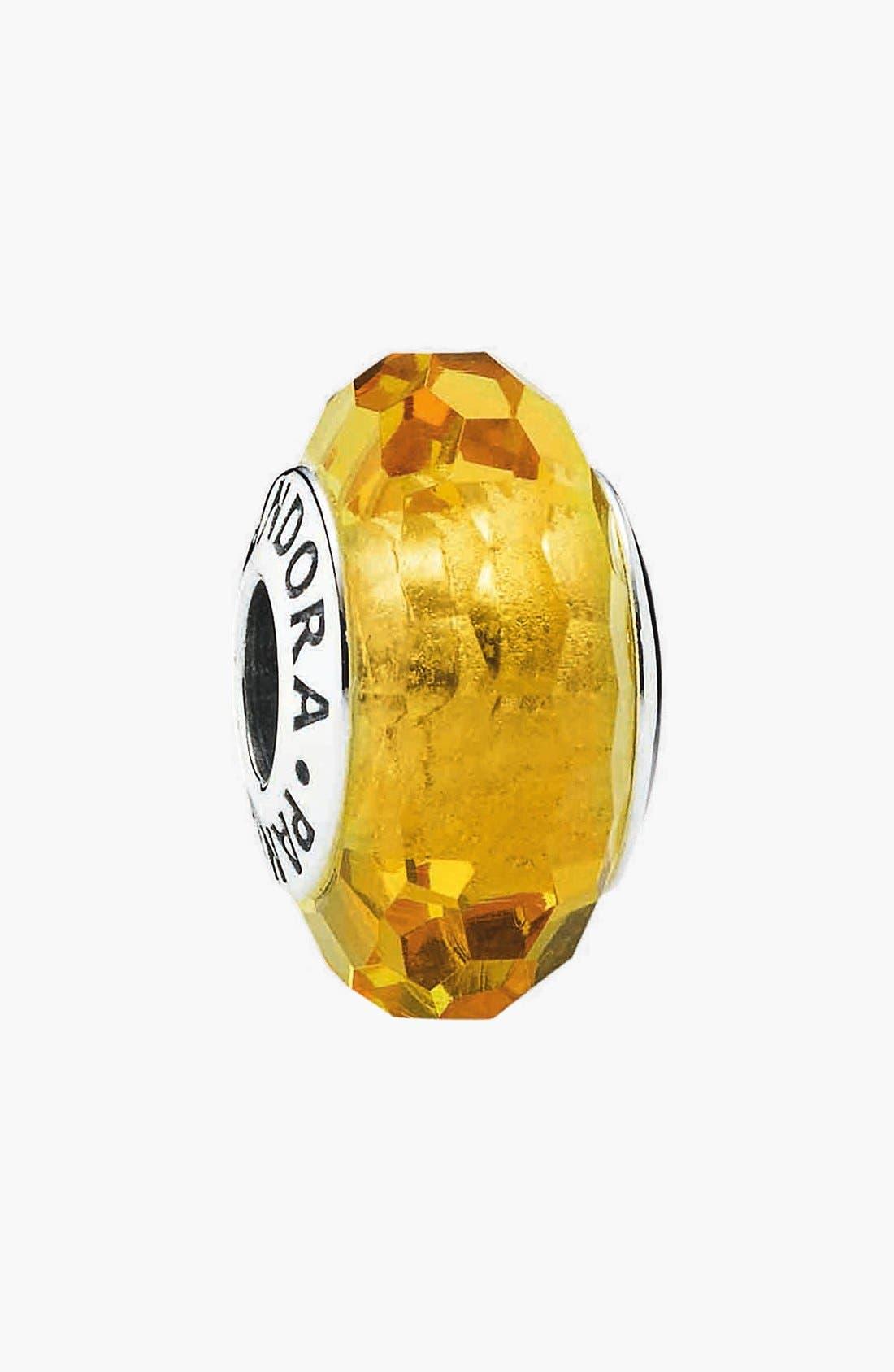 Main Image - PANDORA 'Fascinating' Murano Glass Bead Charm