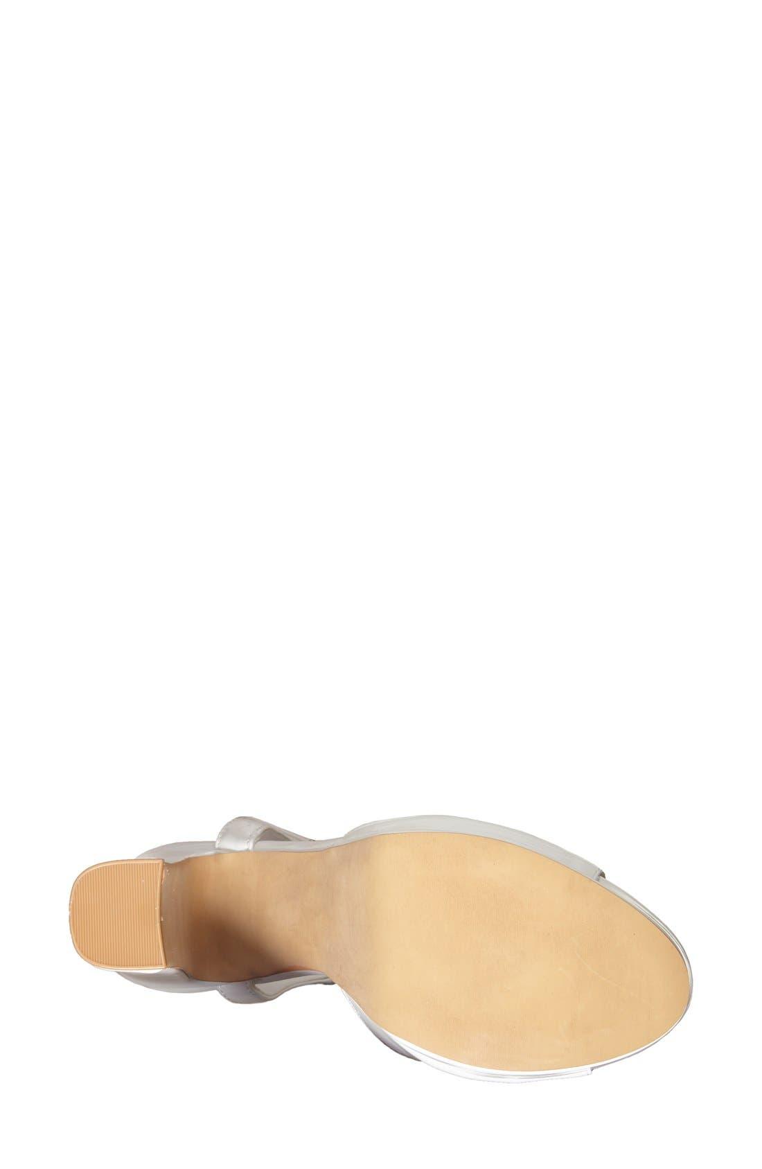 Alternate Image 4  - Topshop 'Luther' Platform Sandal (Women)