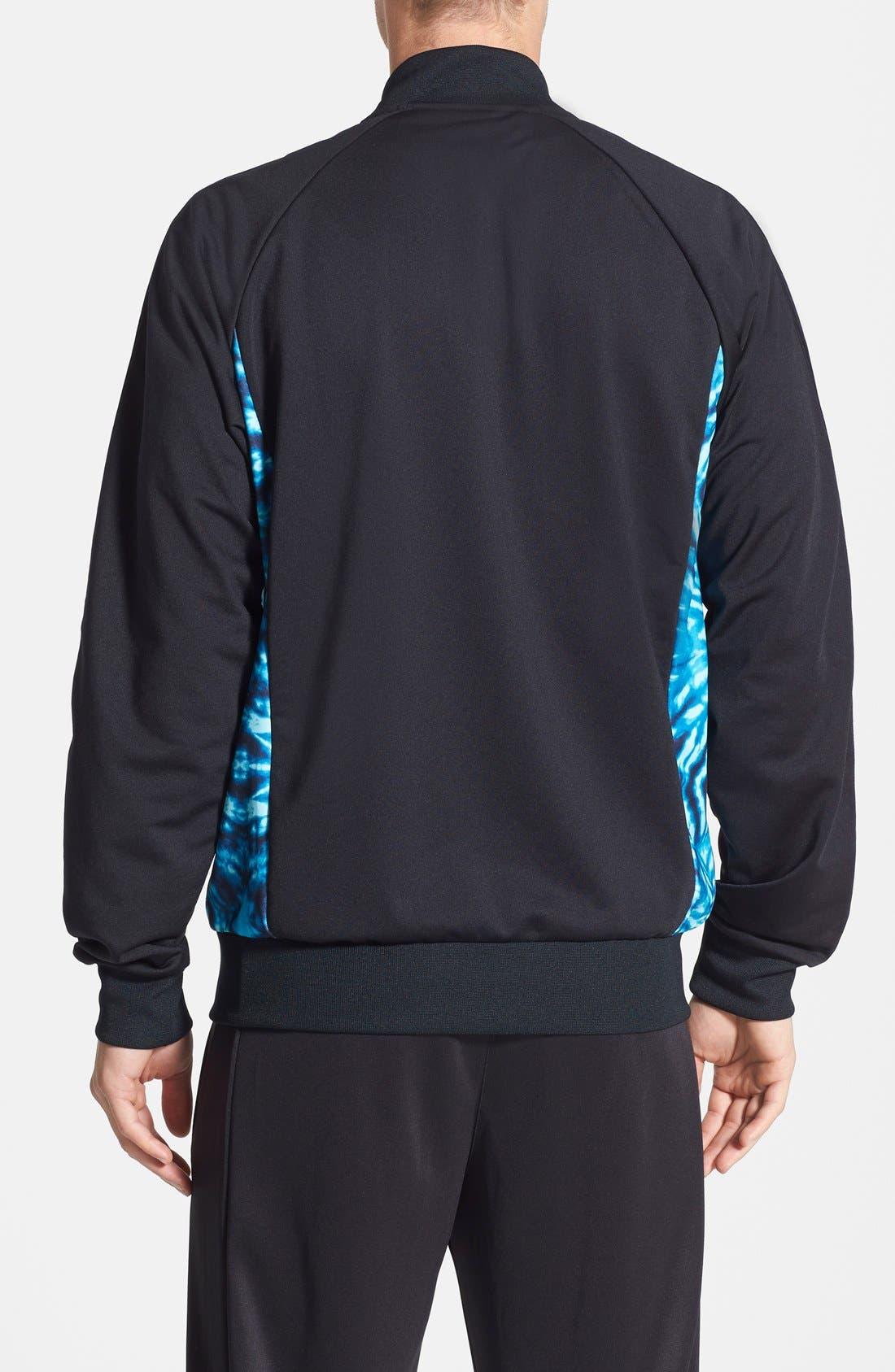 Alternate Image 2  - adidas Originals 'Superstar Graphic' Raglan Sleeve Track Jacket