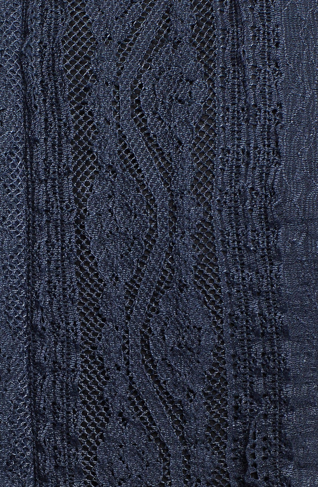 Alternate Image 3  - Korovilas 'Georgia' Encrusted Neck Lace Maxi Dress