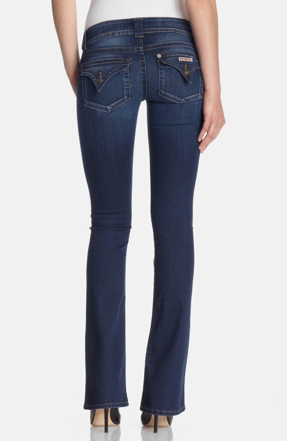Alternate Image 2  - Hudson Jeans Signature Bootcut Jeans (Limelight)
