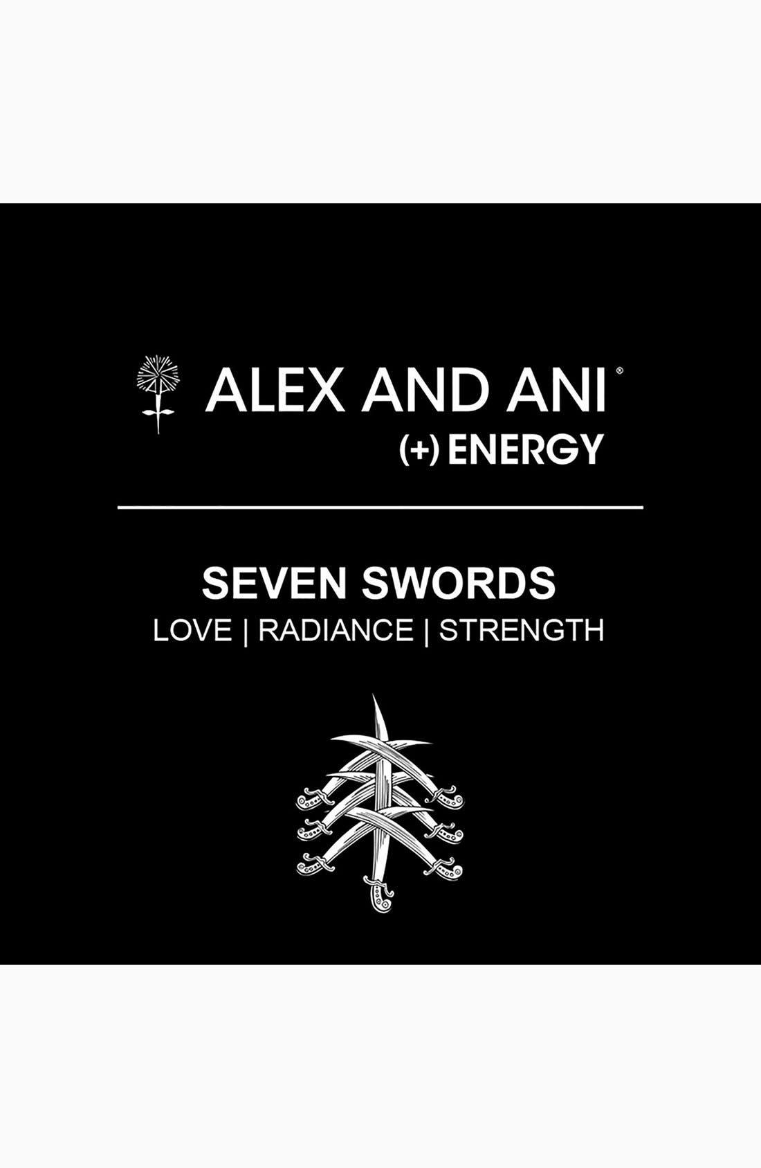 Alternate Image 2  - Alex and Ani 'Seven Swords' Wire Bangle
