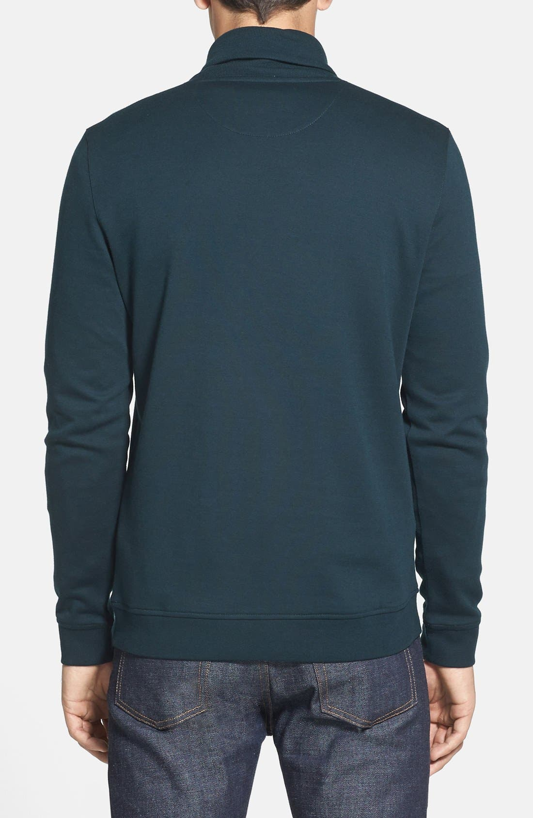 Alternate Image 2  - Ted Baker London 'SFINX' Shawl Collar Jersey Pullover