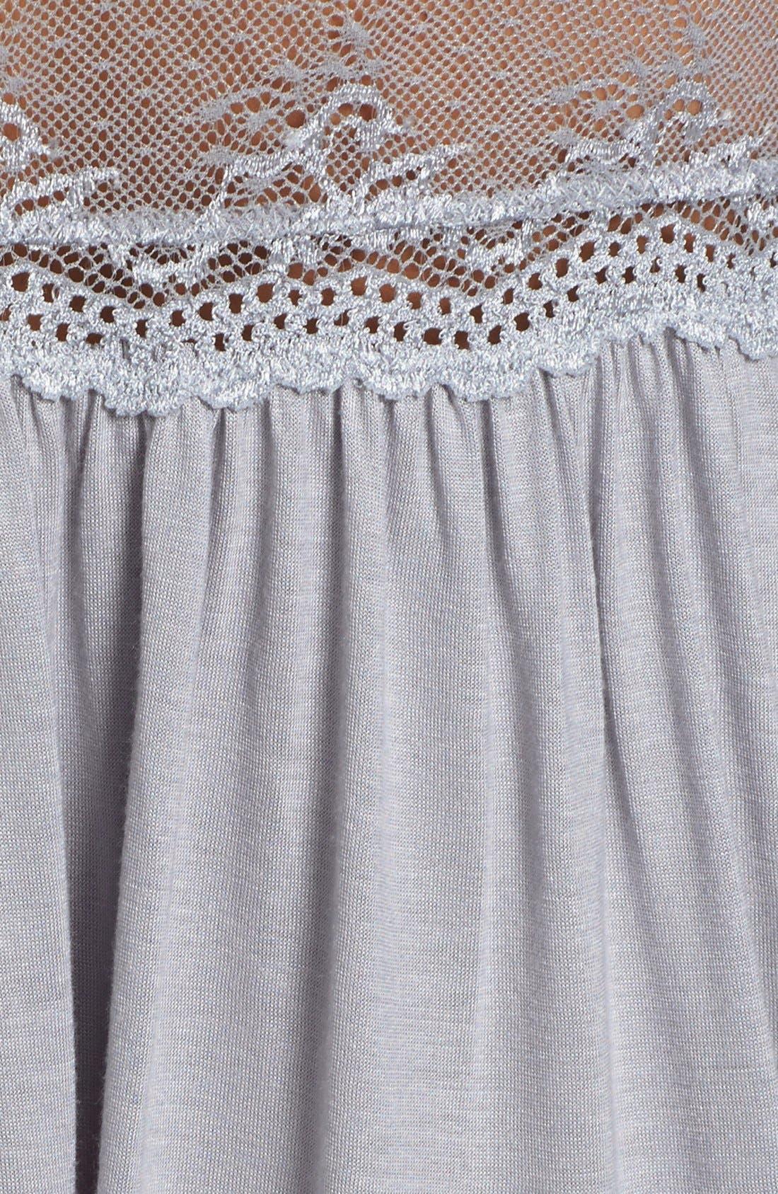 Alternate Image 3  - Eberjey 'Colette' Nightgown