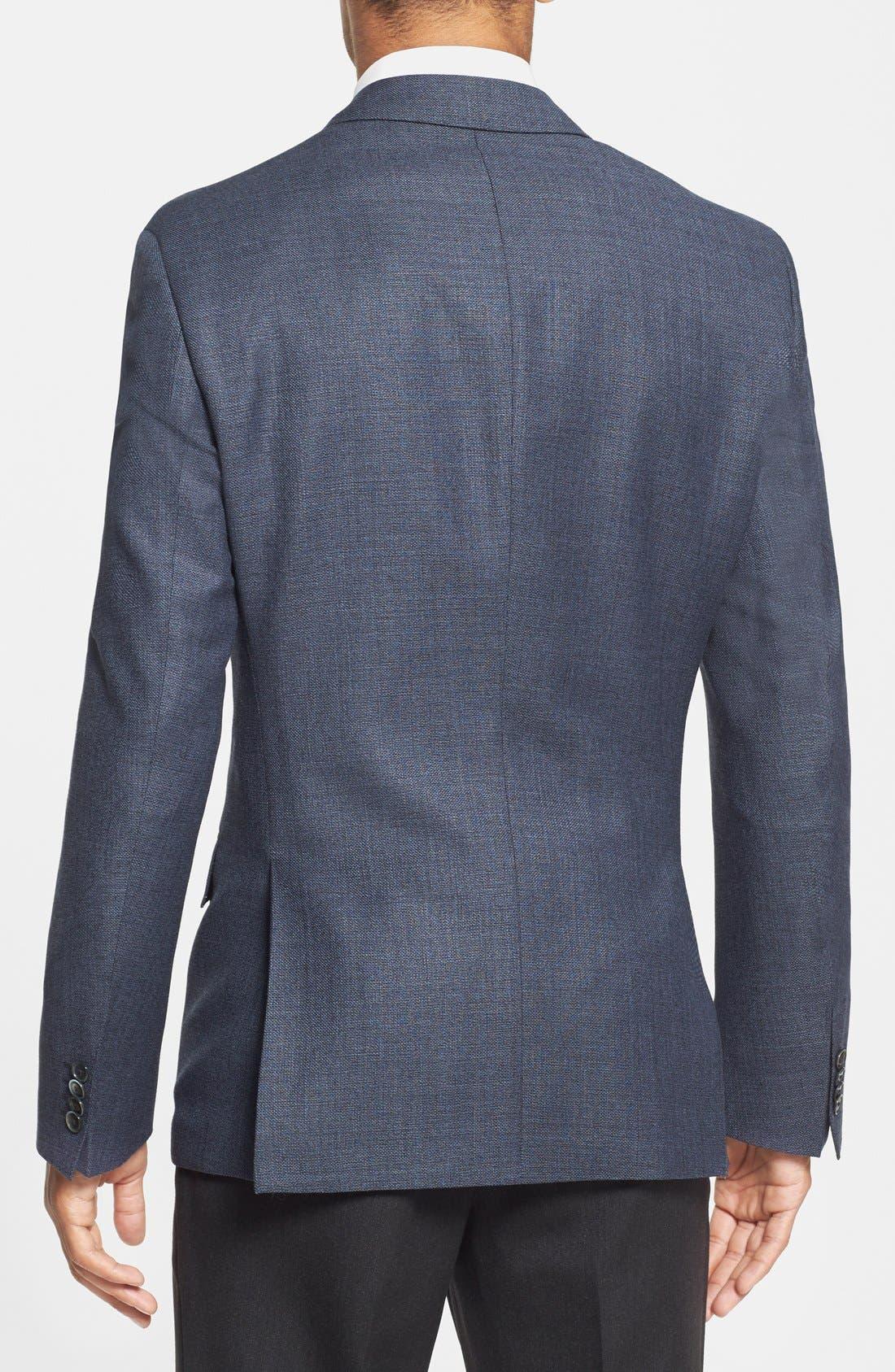 Alternate Image 2  - BOSS HUGO BOSS 'Hutson' Trim Fit Wool Blazer