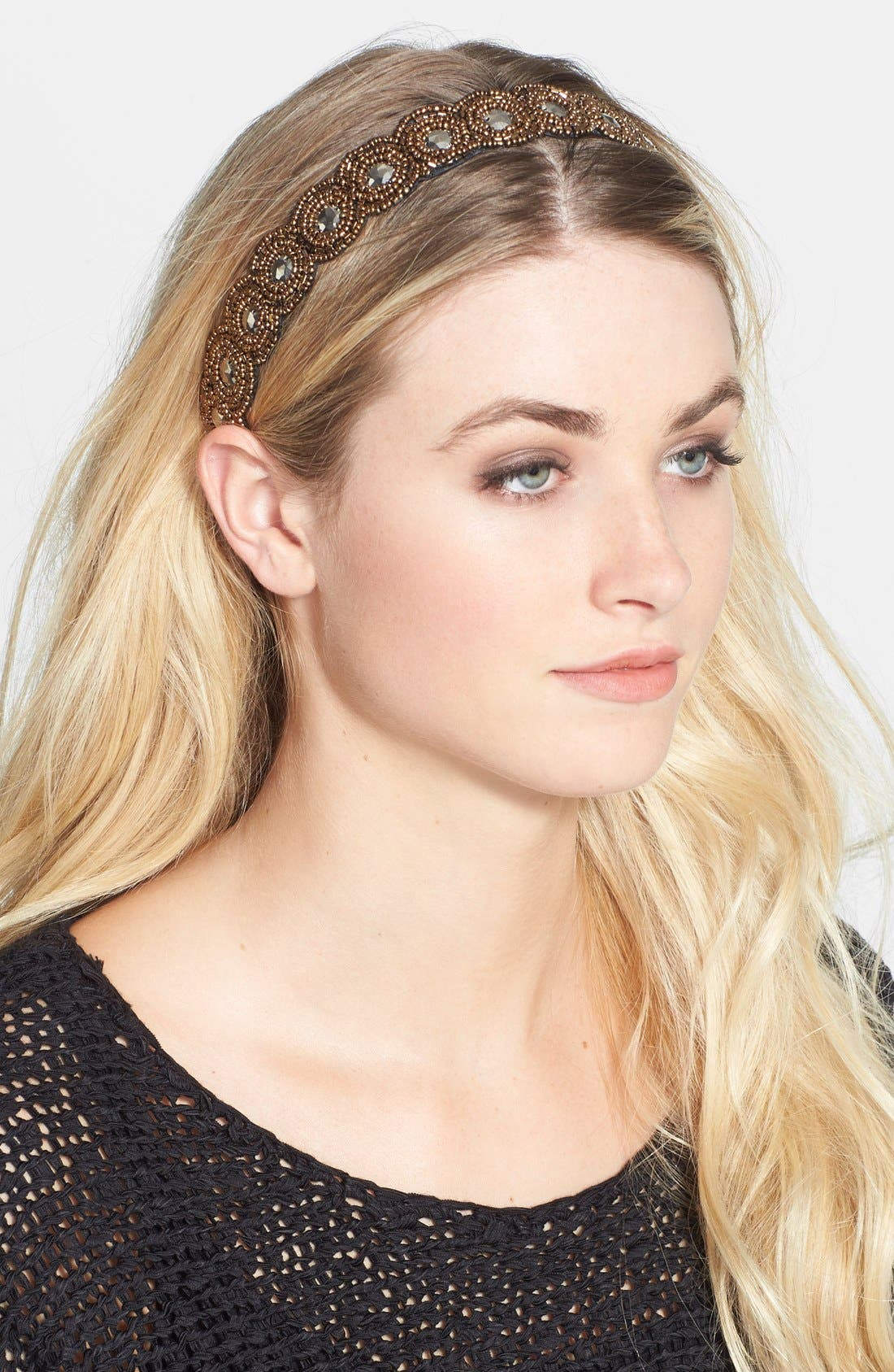 Main Image - Tasha 'Beaded in Beauty' Head Wrap