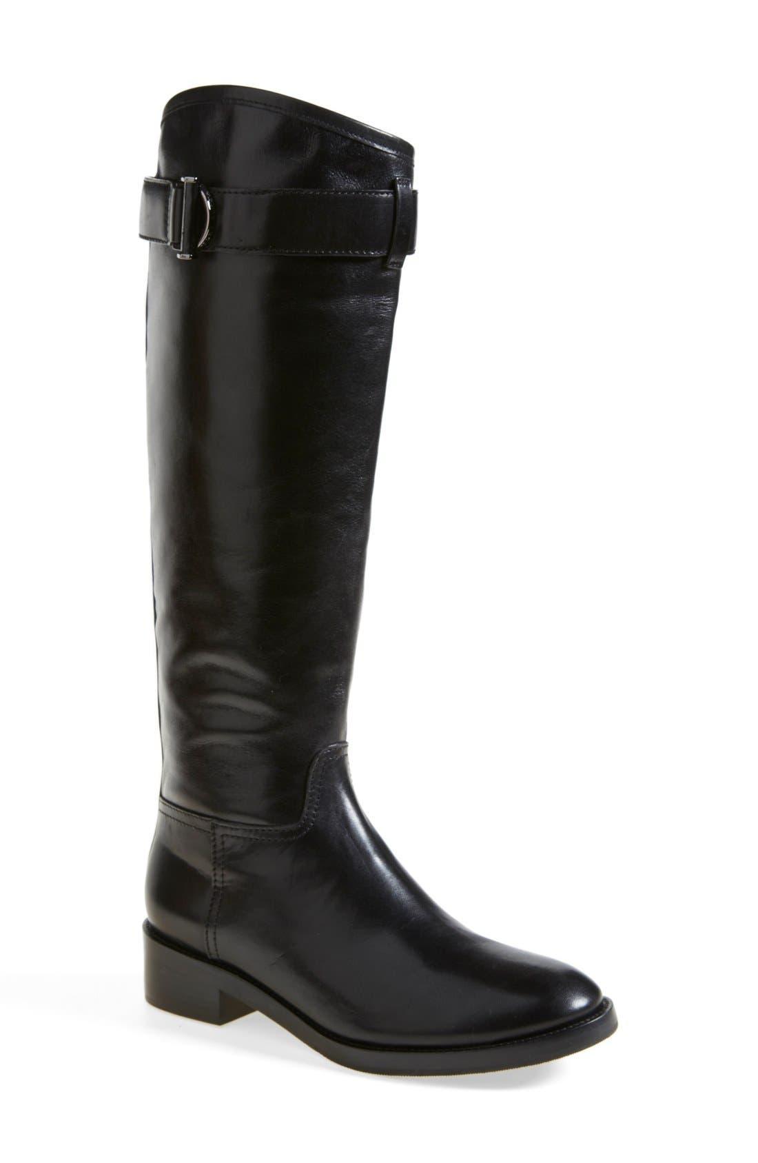 'Grace' Boot,                             Main thumbnail 1, color,                             Black/ Black
