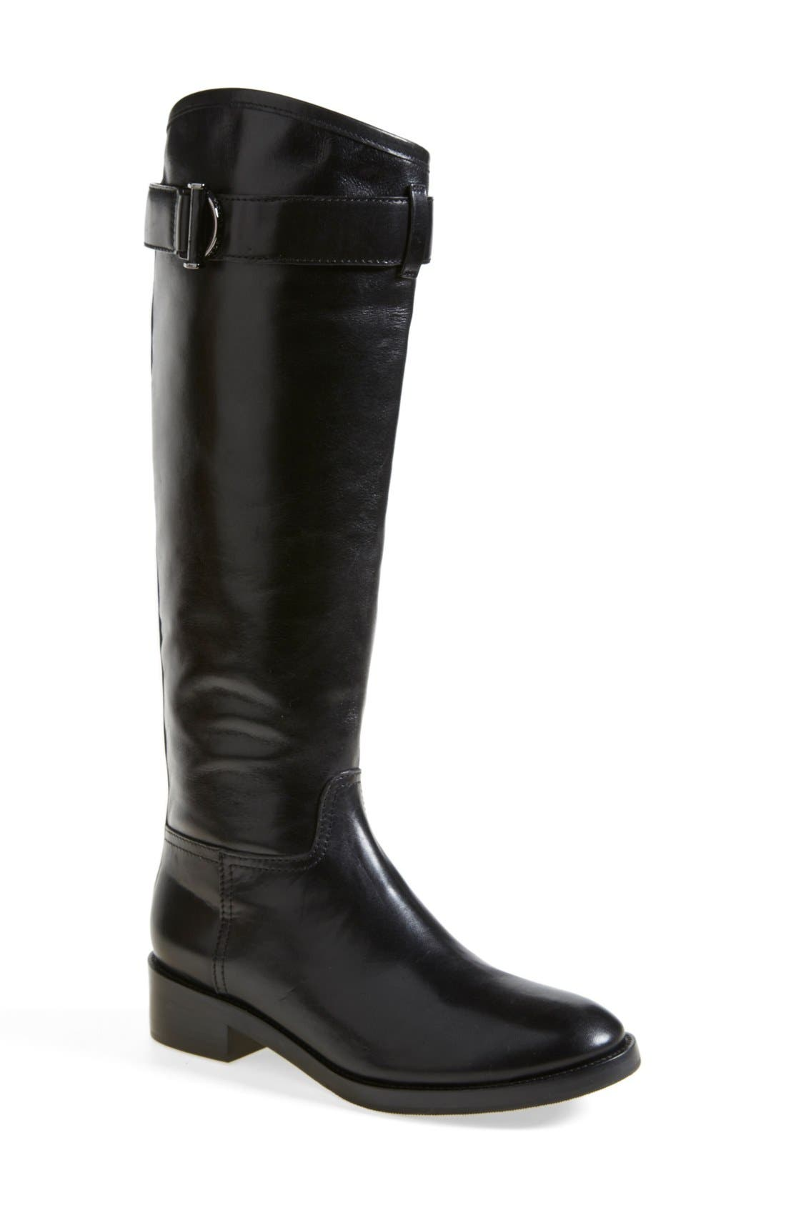 'Grace' Boot,                         Main,                         color, Black/ Black