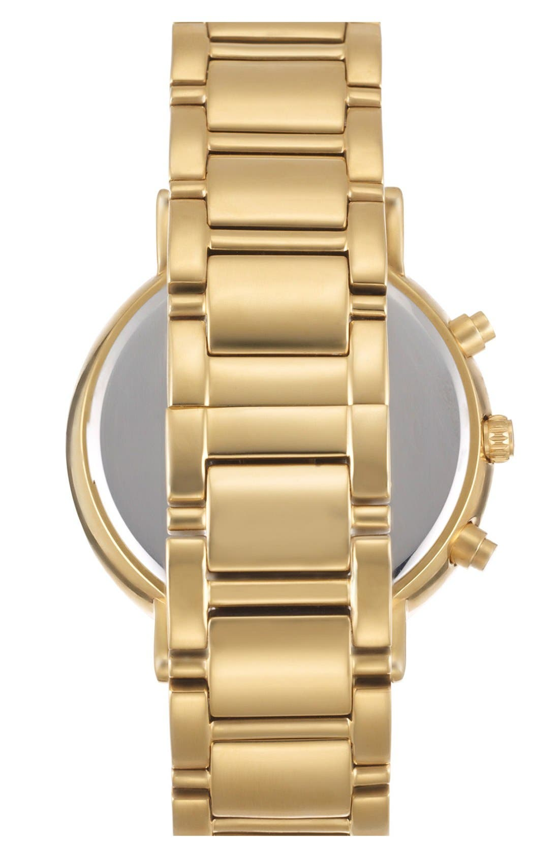 Alternate Image 2  - kate spade new york 'gramercy grand' crystal bezel multifunction bracelet watch, 38mm
