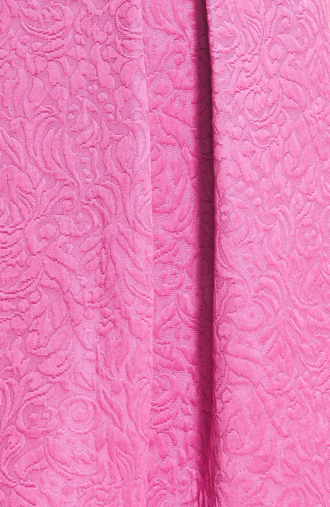 Full Pleat Skirt,                             Alternate thumbnail 3, color,                             Pink Plumier