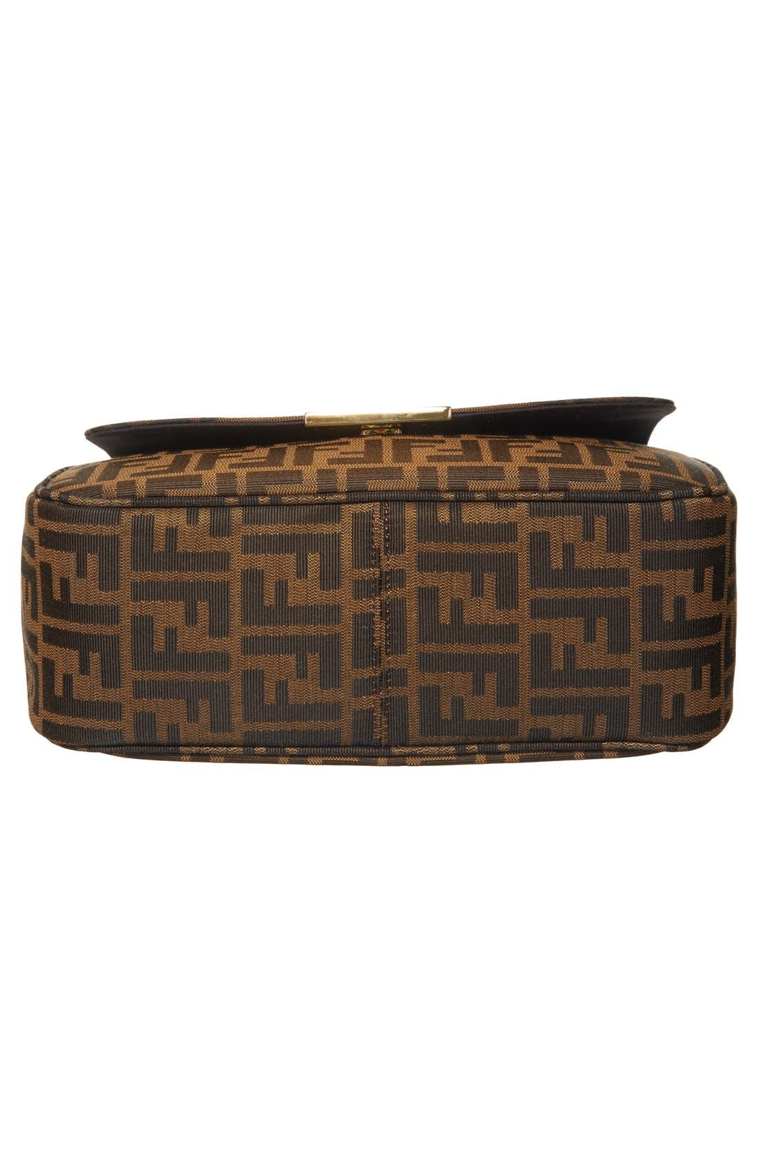 Alternate Image 6  - Fendi 'Zucca - Large' Logo Jacquard Crossbody Bag
