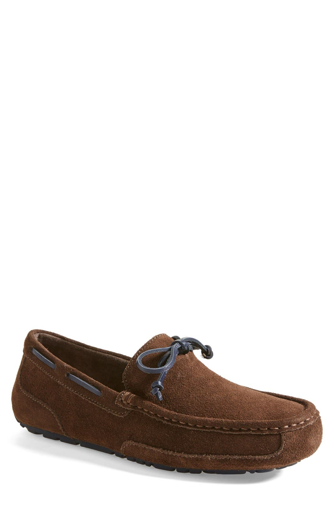 Alternate Image 1 Selected - UGG® 'Chester' Driving Loafer (Men)