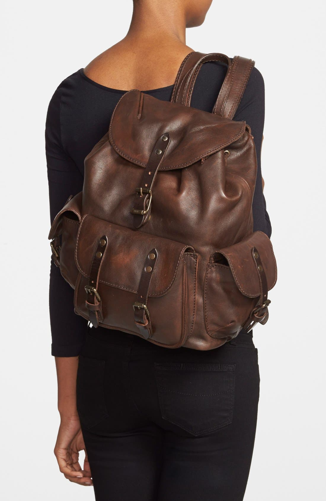 Alternate Image 2  - Frye 'Veronica' Leather Backpack