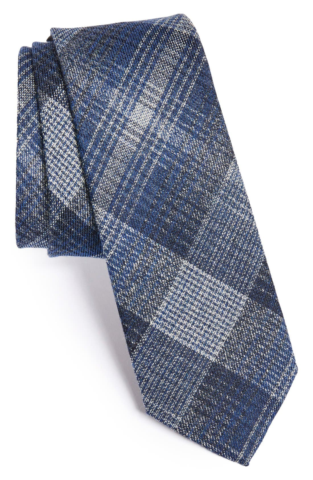 Main Image - John Varvatos Collection Woven Silk & Cotton Tie