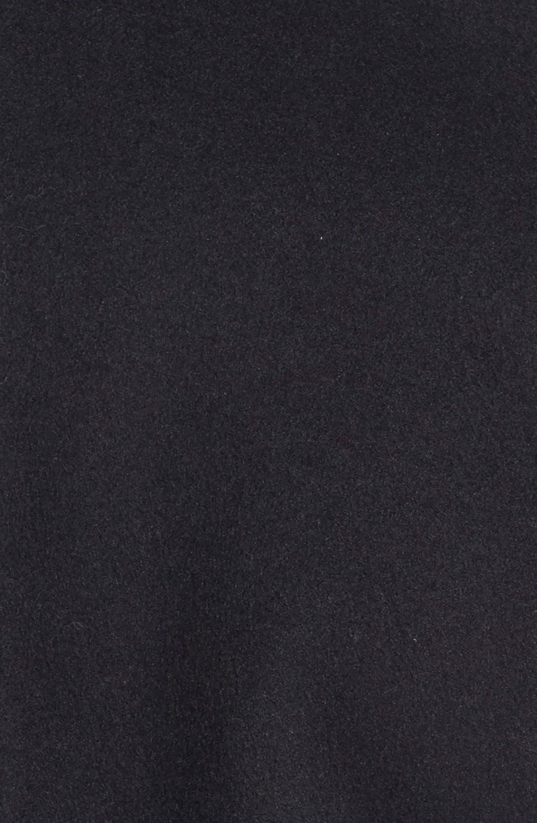 Alternate Image 3  - Vera Wang Slim Wool Blend Peacoat