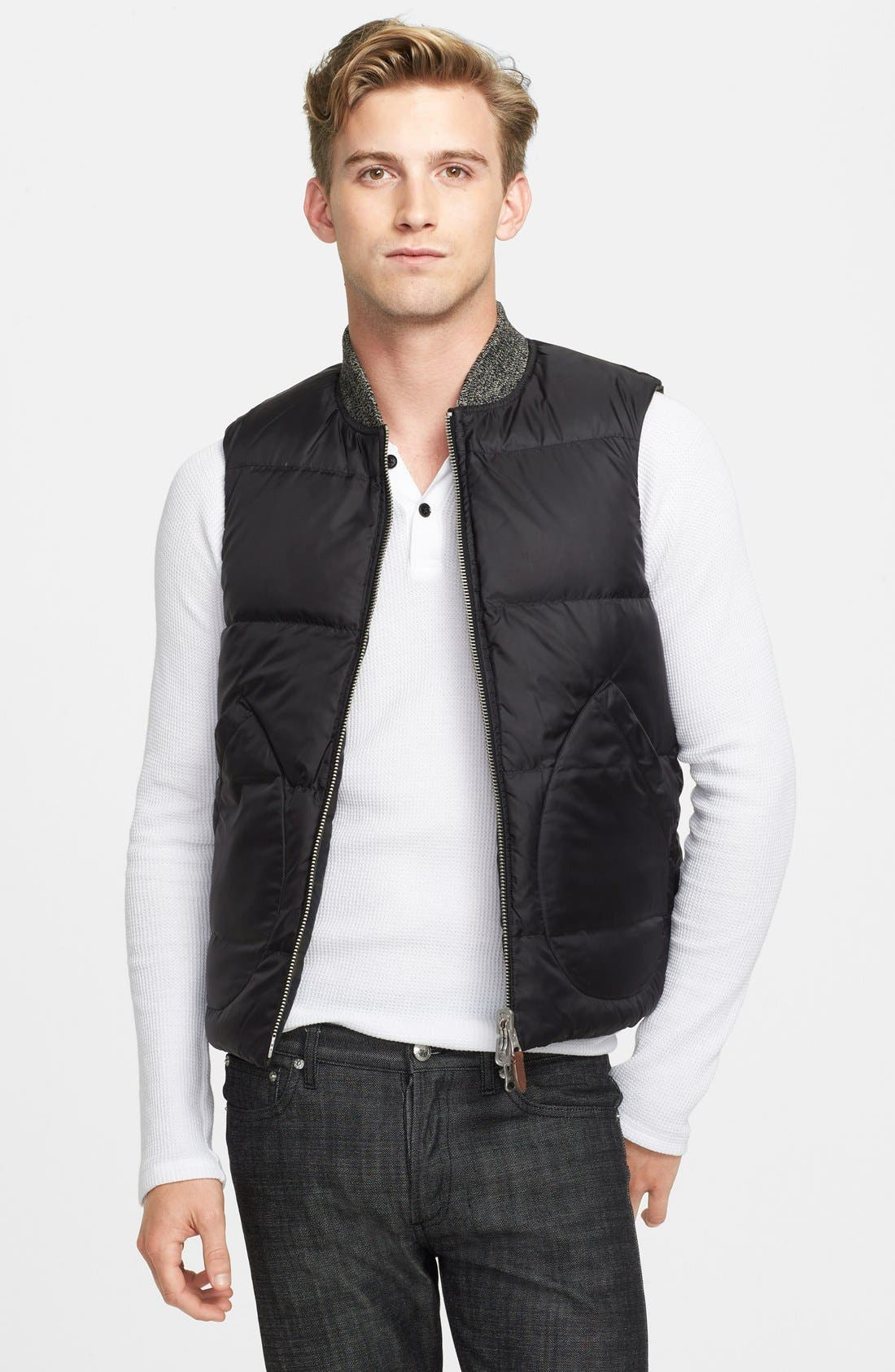 Alternate Image 4  - Jack Spade 'Dalton' Reversible Down Vest