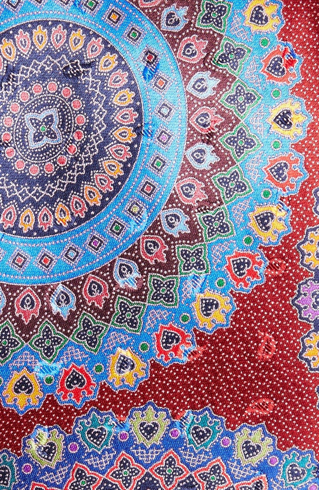 Alternate Image 2  - Ermenegildo Zegna 'Quindici' Print Silk Tie