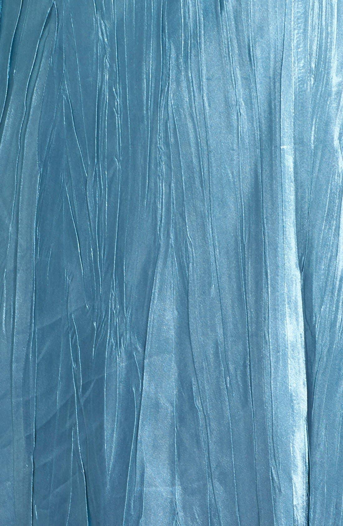 Alternate Image 4  - Komarov Embellished Charmeuse & Chiffon Dress with Jacket (Plus Size)